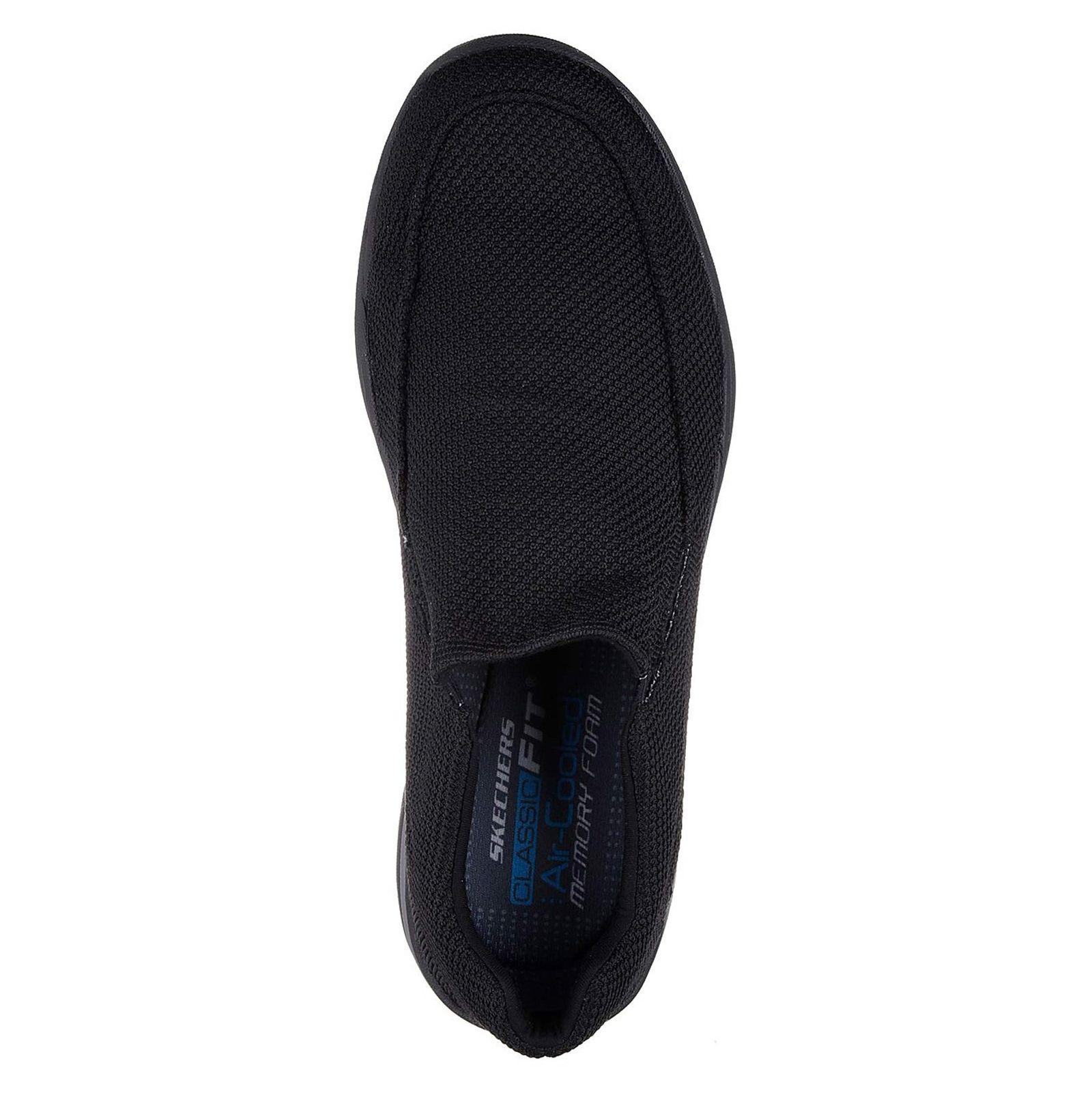 کفش راحتی پارچه ای مردانه Skech-Air Elment Vengo - اسکچرز - مشکي - 2
