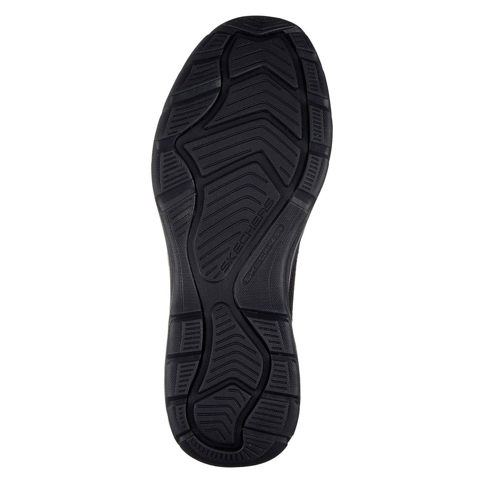 کفش راحتی پارچه ای مردانه Skech-Air Elment Vengo - اسکچرز - مشکي - 3