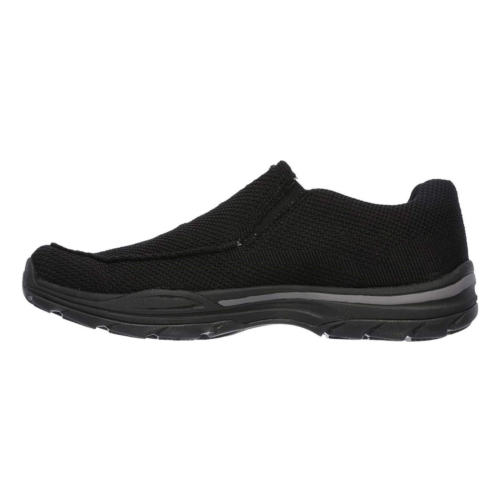 کفش راحتی پارچه ای مردانه Skech-Air Elment Vengo - اسکچرز - مشکي - 6