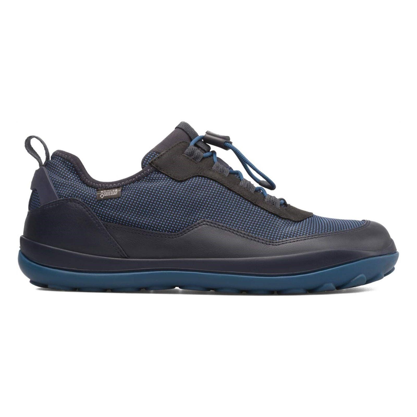 کفش طبیعت گردی بندی مردانه - کمپر - مشکي و سرمه اي - 2