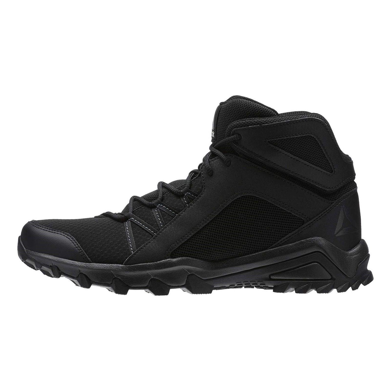 کفش طبیعت گردی بندی مردانه Trailgrip Mid 6-0 - ریباک - مشکي - 3