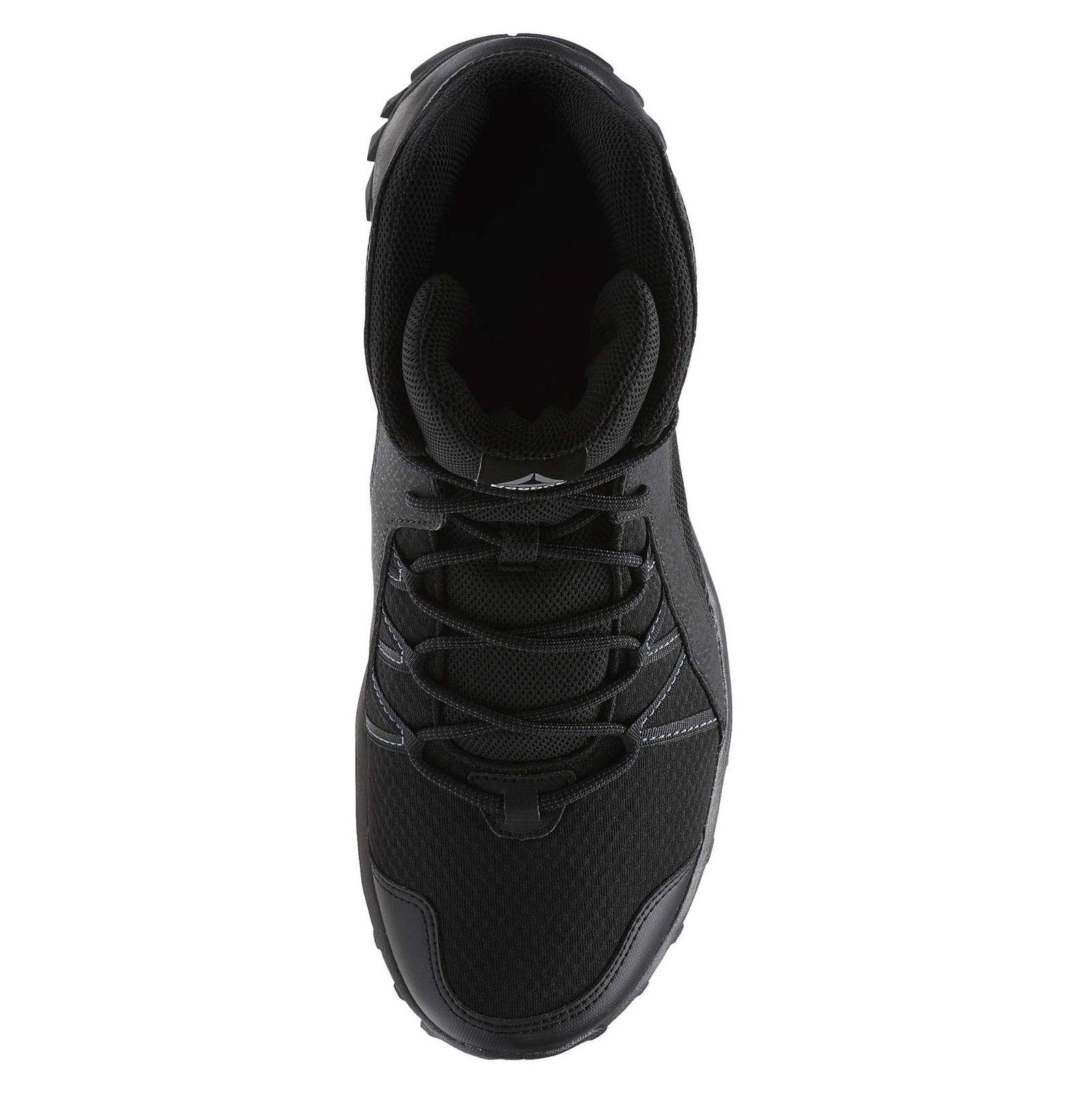 کفش طبیعت گردی بندی مردانه Trailgrip Mid 6-0 - ریباک - مشکي - 5