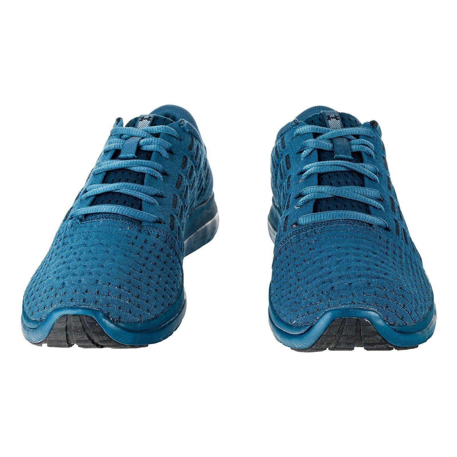 کفش دویدن بندی مردانه Threadborne Slingflex - آندر آرمور - آبي تيره - 4