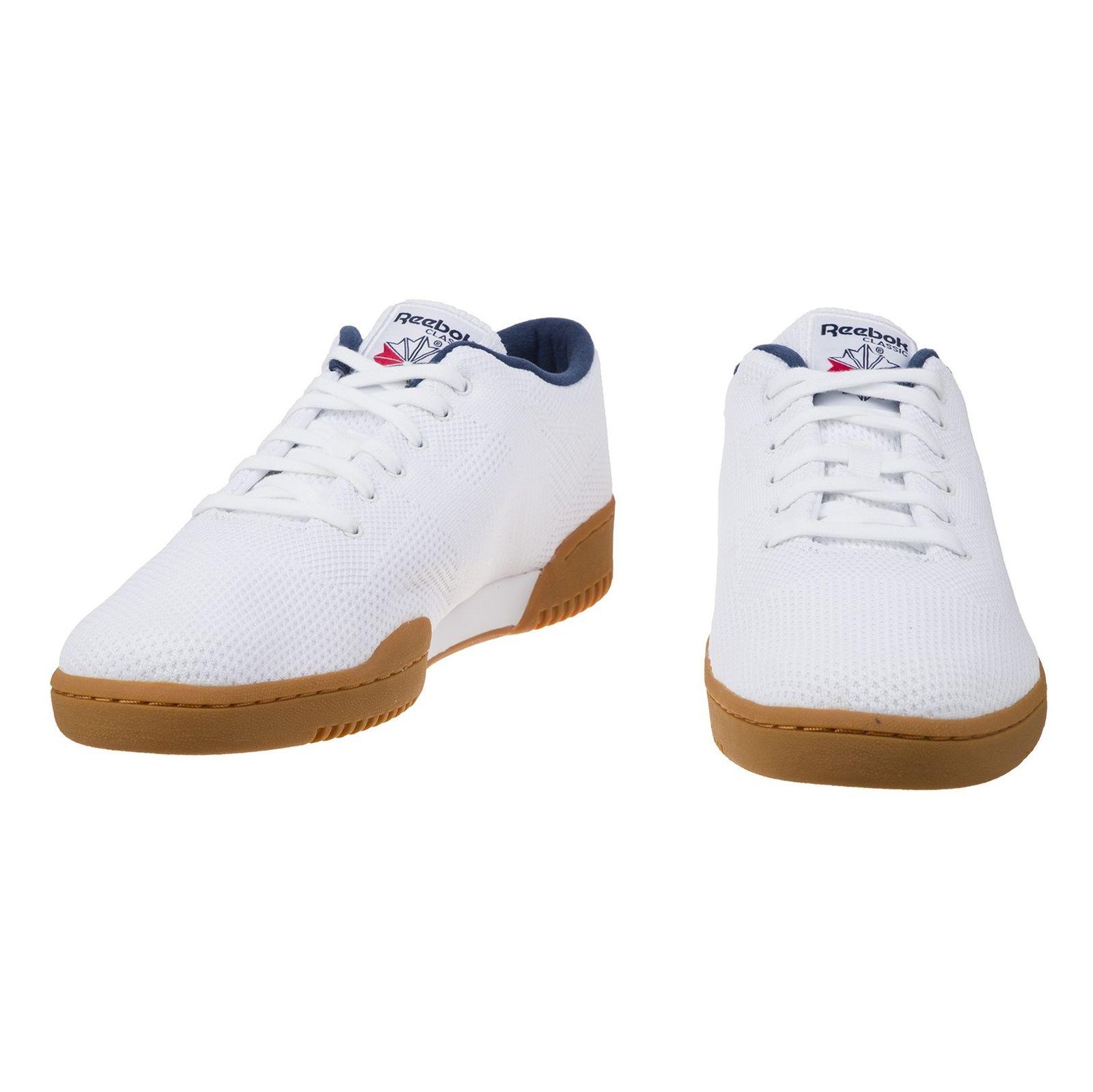 کفش راحتی مردانه ریباک مدل CLEAN OG ULTK - سفيد - 4