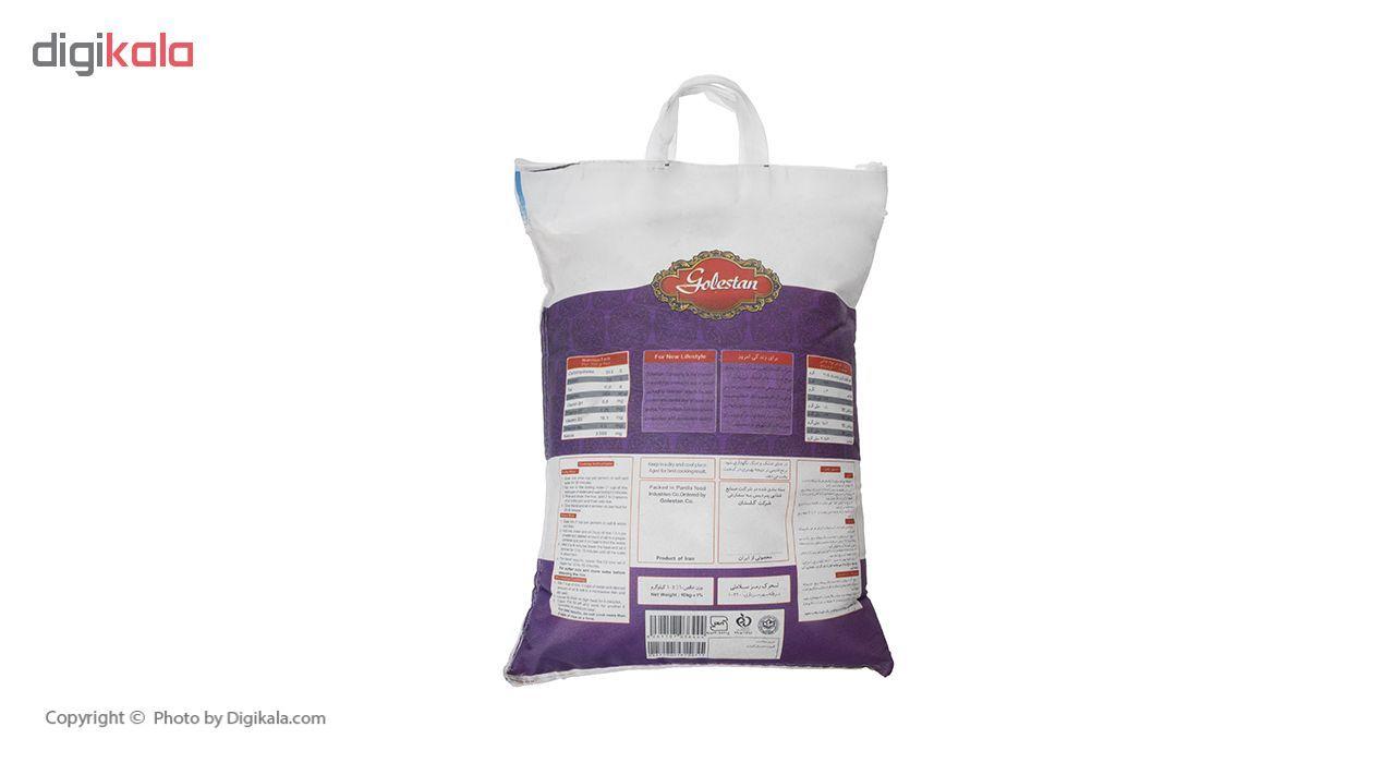 برنج هاشمی گلستان - 10 کیلوگرم main 1 2