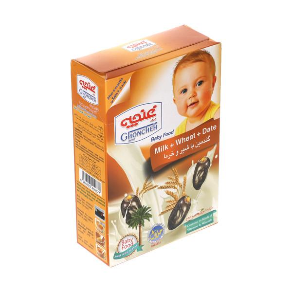 غذای کودک گندمین غنچه پرور با طعم شیر و خرما - 250 گرم