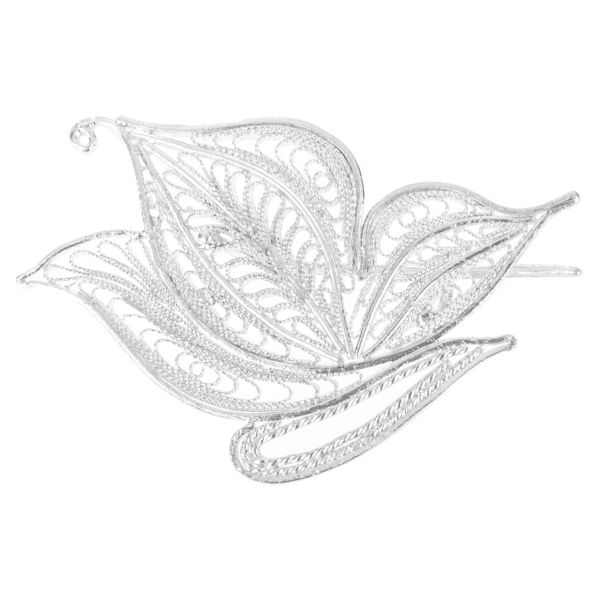 گل سینه سیمینه طرح پروانه مدل SIM127017