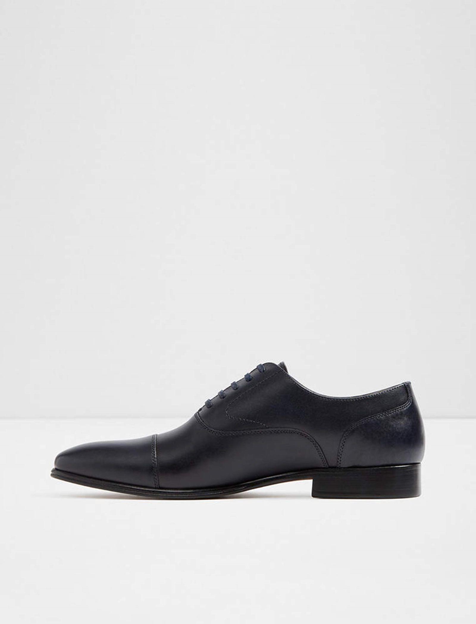 کفش رسمی چرم مردانه - آلدو - سرمه اي - 2