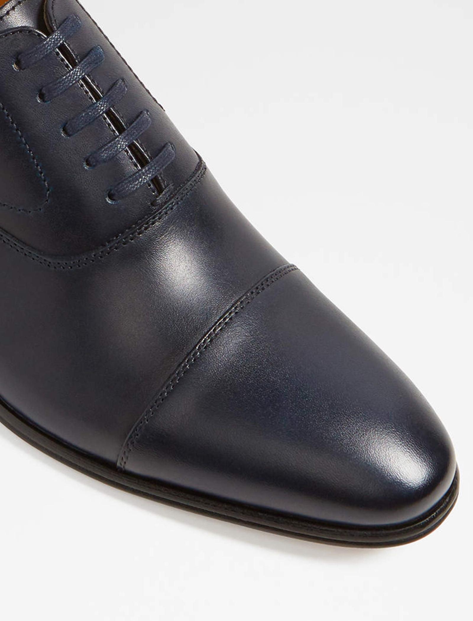 کفش رسمی چرم مردانه - آلدو - سرمه اي - 4