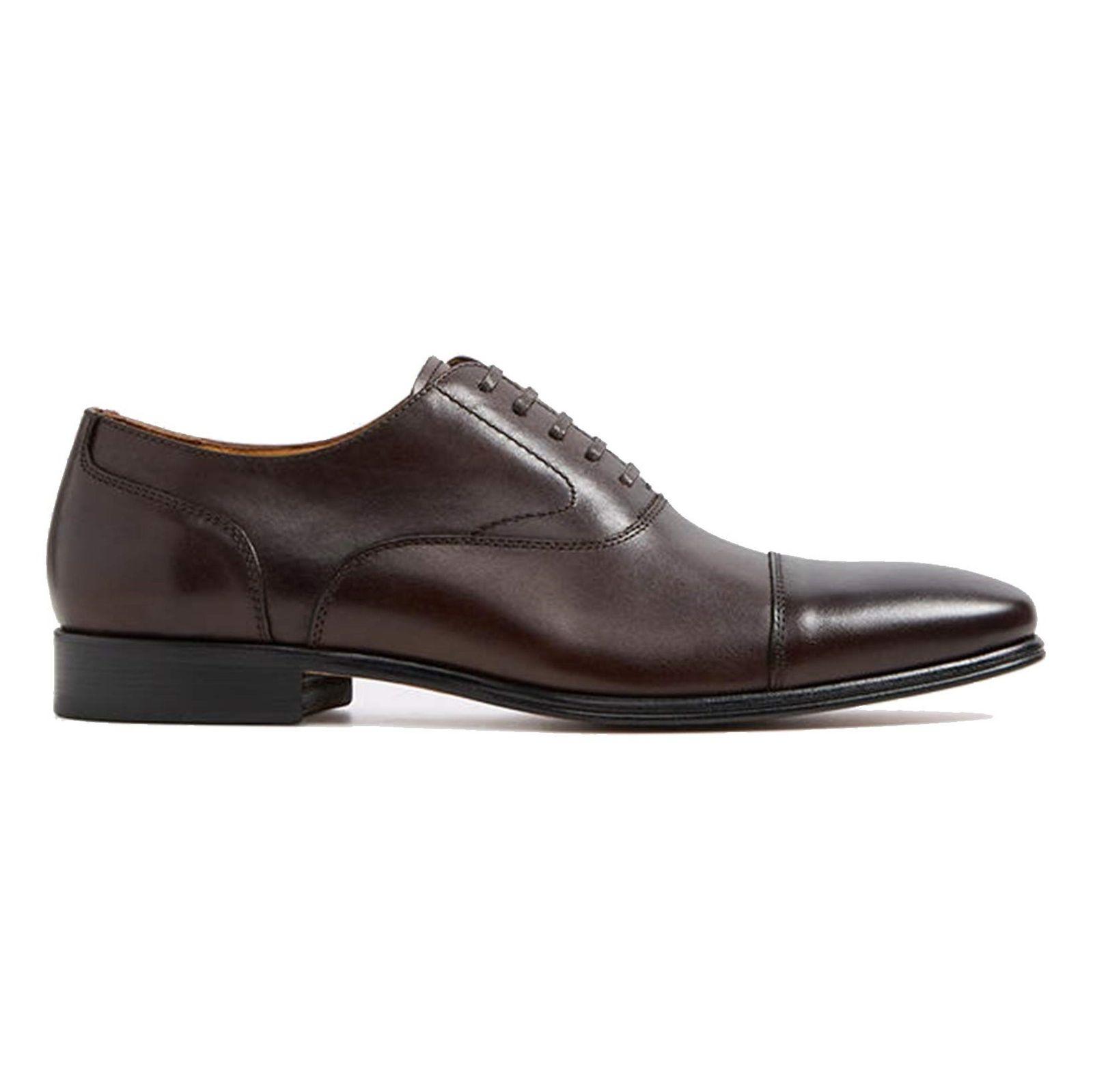 کفش رسمی چرم مردانه - آلدو - قهوه اي تيره - 1