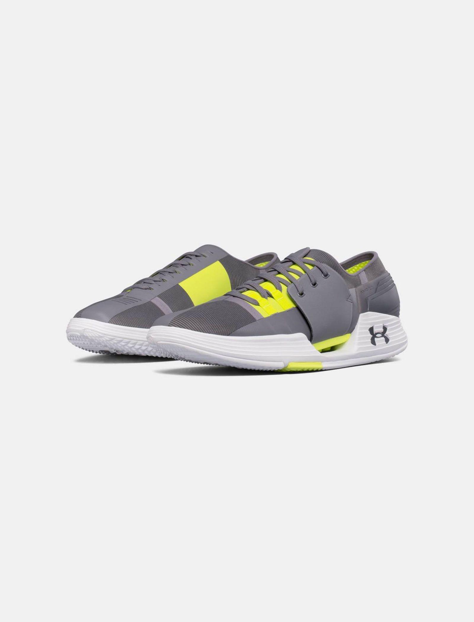 کفش تمرین بندی مردانه SpeedForm AMP 2 - آندر آرمور - طوسي - 5