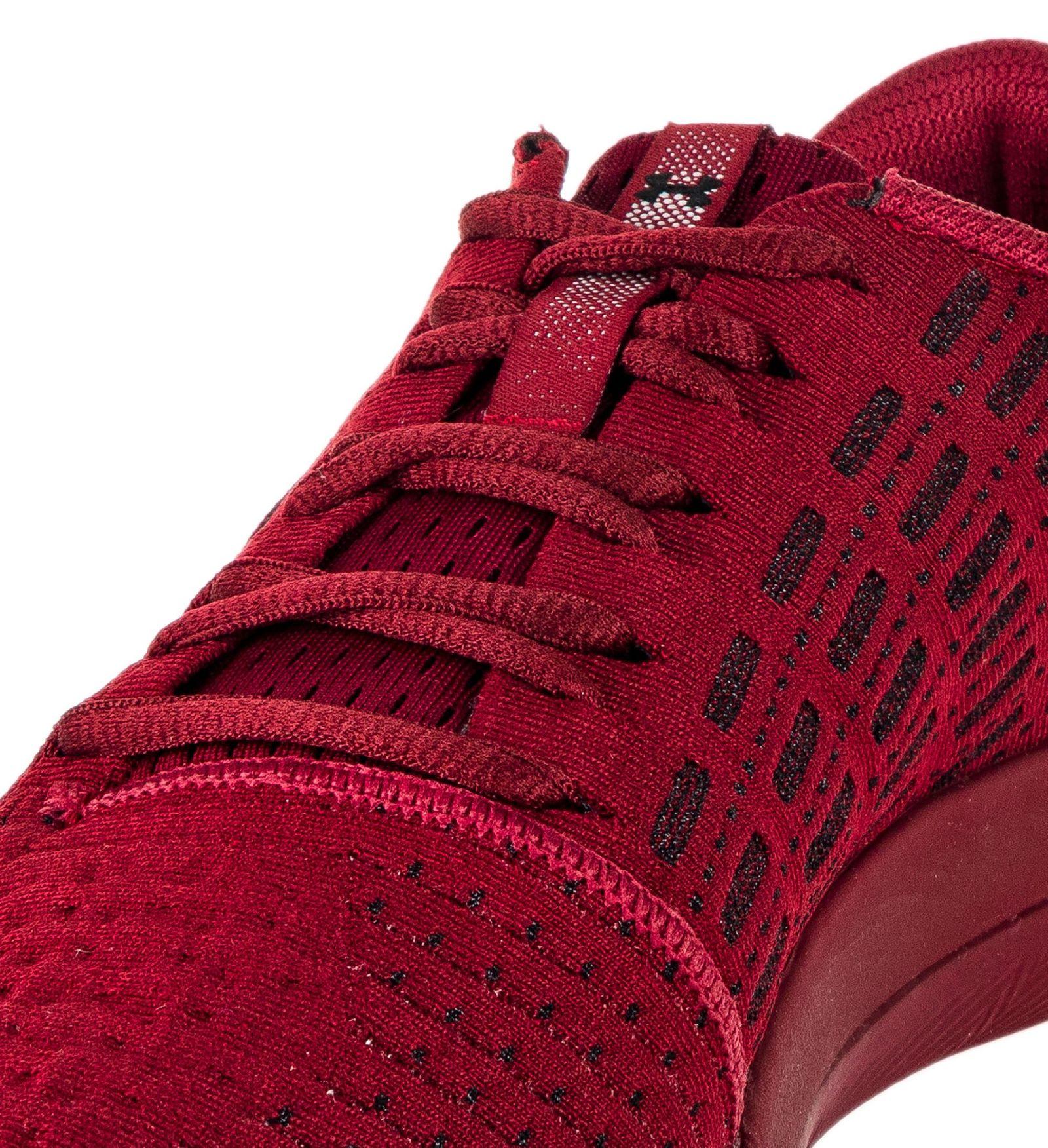 کفش دویدن بندی مردانه Threadborne Slingflex - آندر آرمور - زرشکی - 3