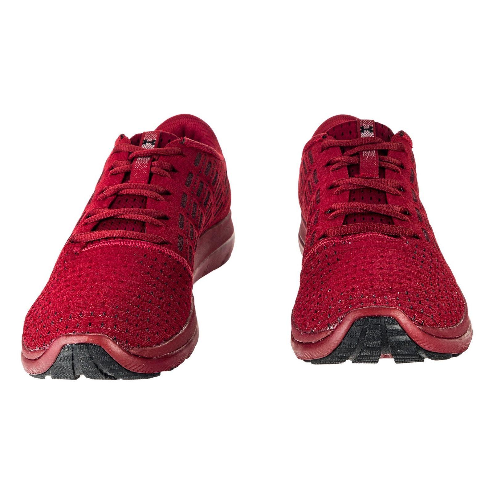 کفش دویدن بندی مردانه Threadborne Slingflex - آندر آرمور - زرشکی - 4