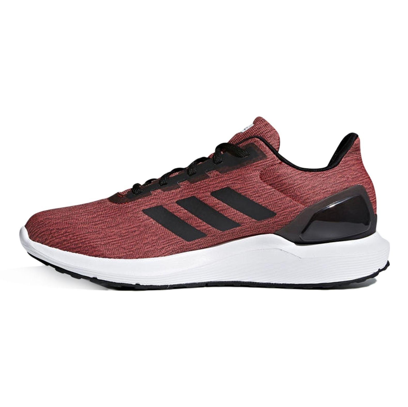 کفش مخصوص دویدن مردانه آدیداس مدل Cosmic 2 - زرشکی - 3