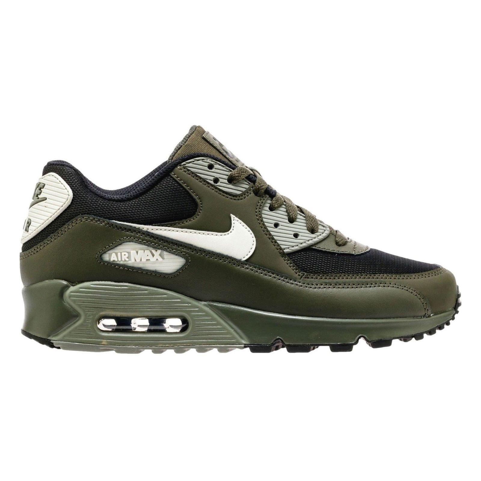 کفش ورزشی دویدن مردانه Air Max 90 Essential - نایکی - زيتوني تيره - 1
