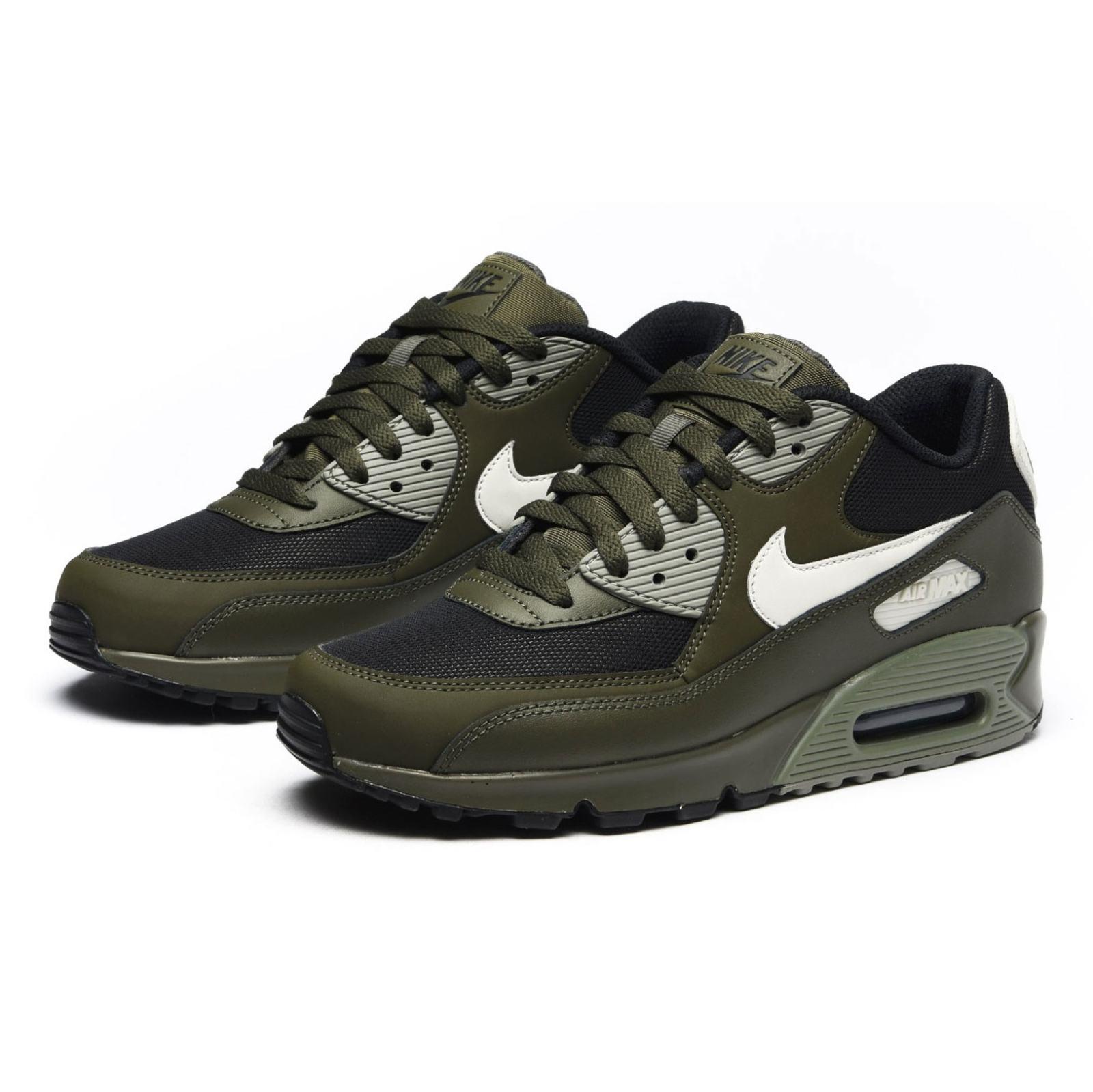 کفش ورزشی دویدن مردانه Air Max 90 Essential - نایکی - زيتوني تيره - 2