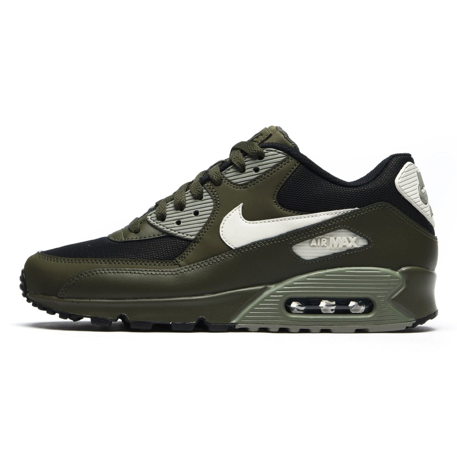 کفش ورزشی دویدن مردانه Air Max 90 Essential - نایکی - زيتوني تيره - 3