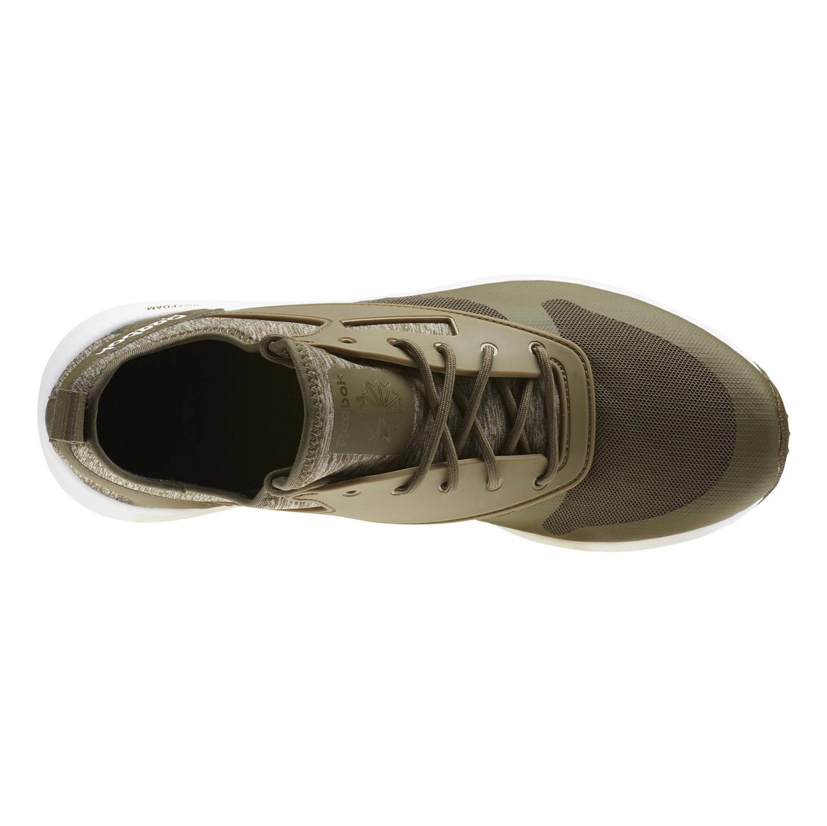 کفش پیاده روی بندی مردانه Zoku Runner NC - ریباک - یشمی - 3