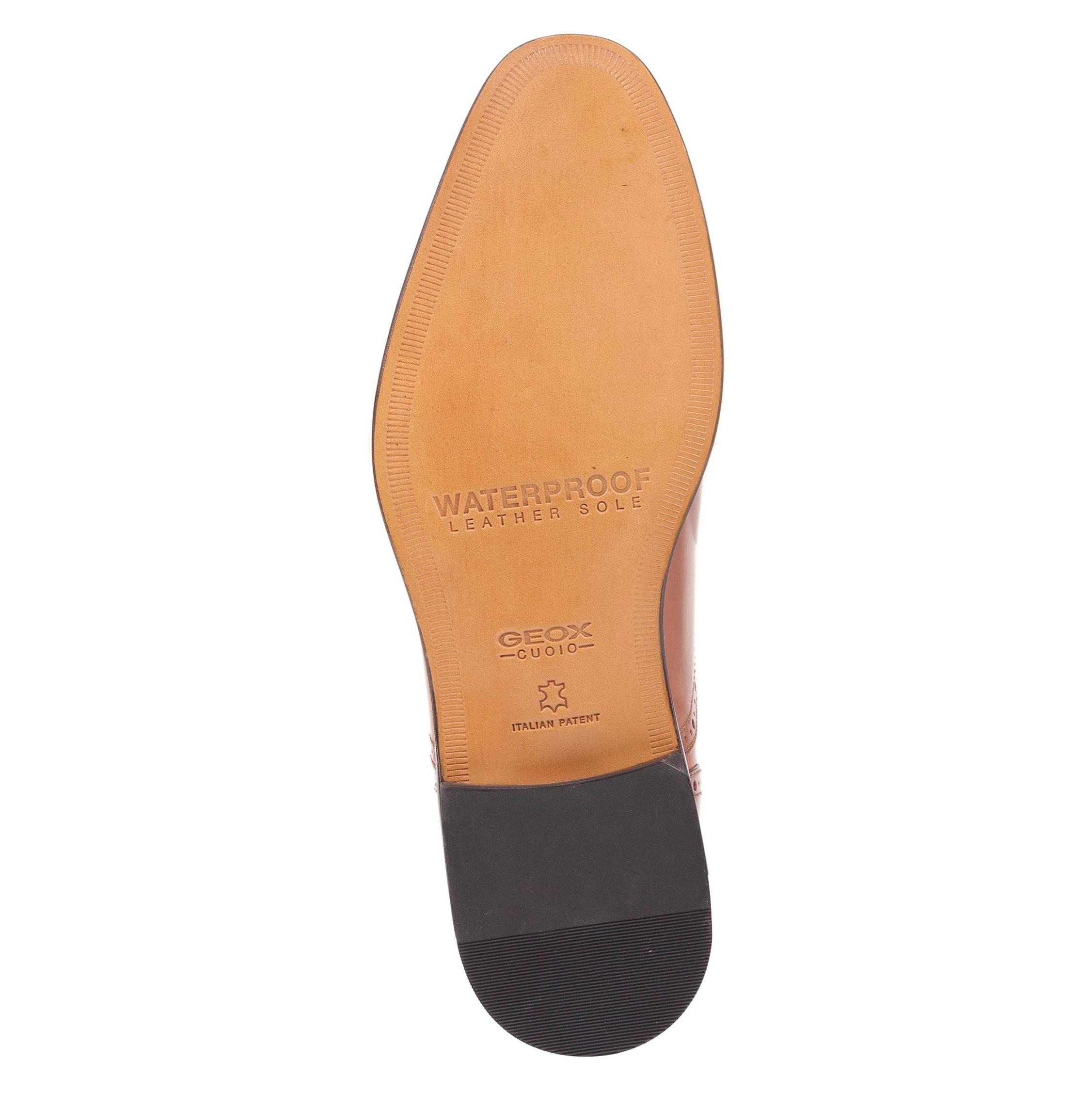 کفش رسمی چرم مردانه Saymore A - جی اوکس - قهوه اي  - 3