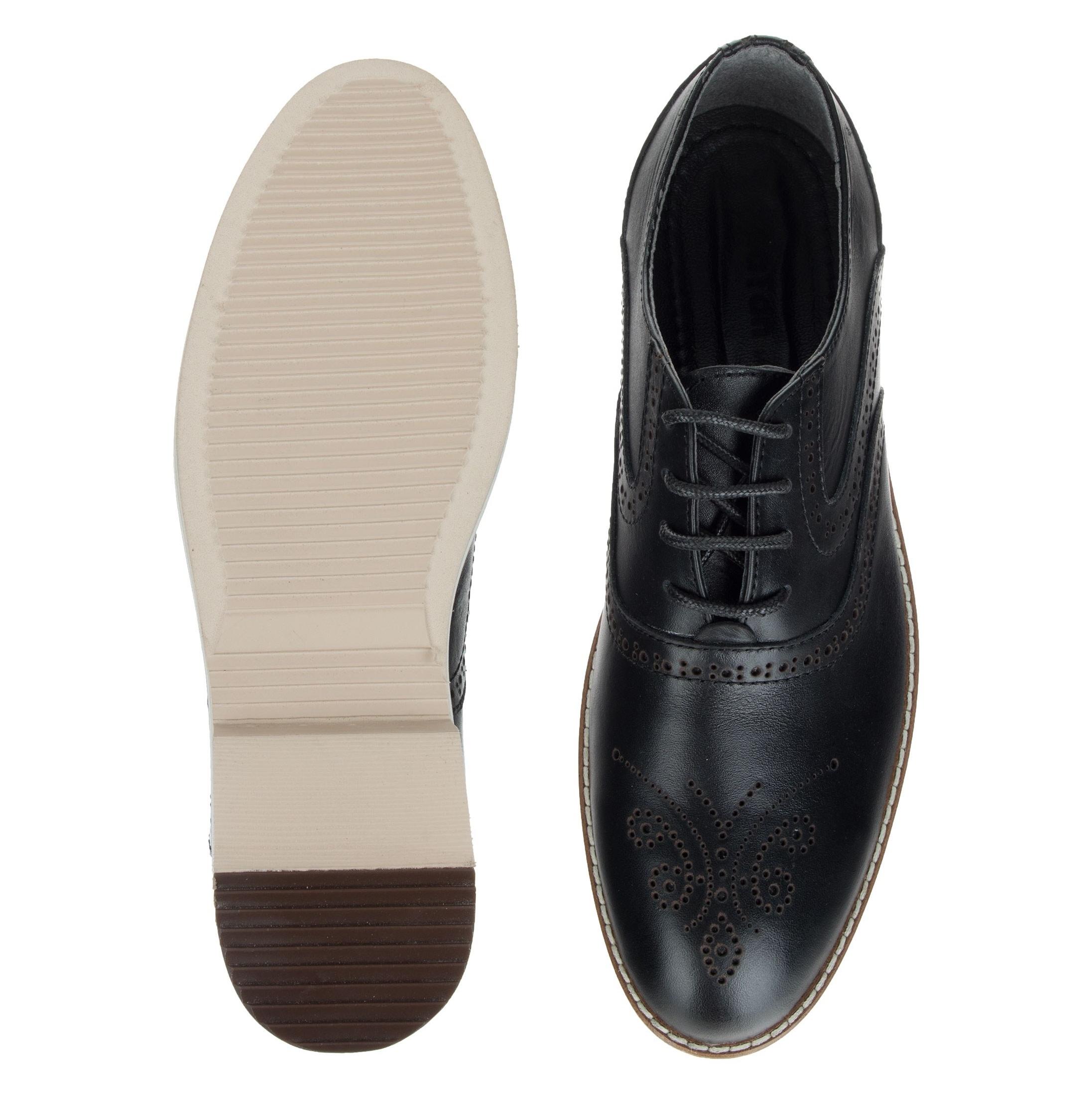 کفش اداری چرم مردانه - پاتن جامه