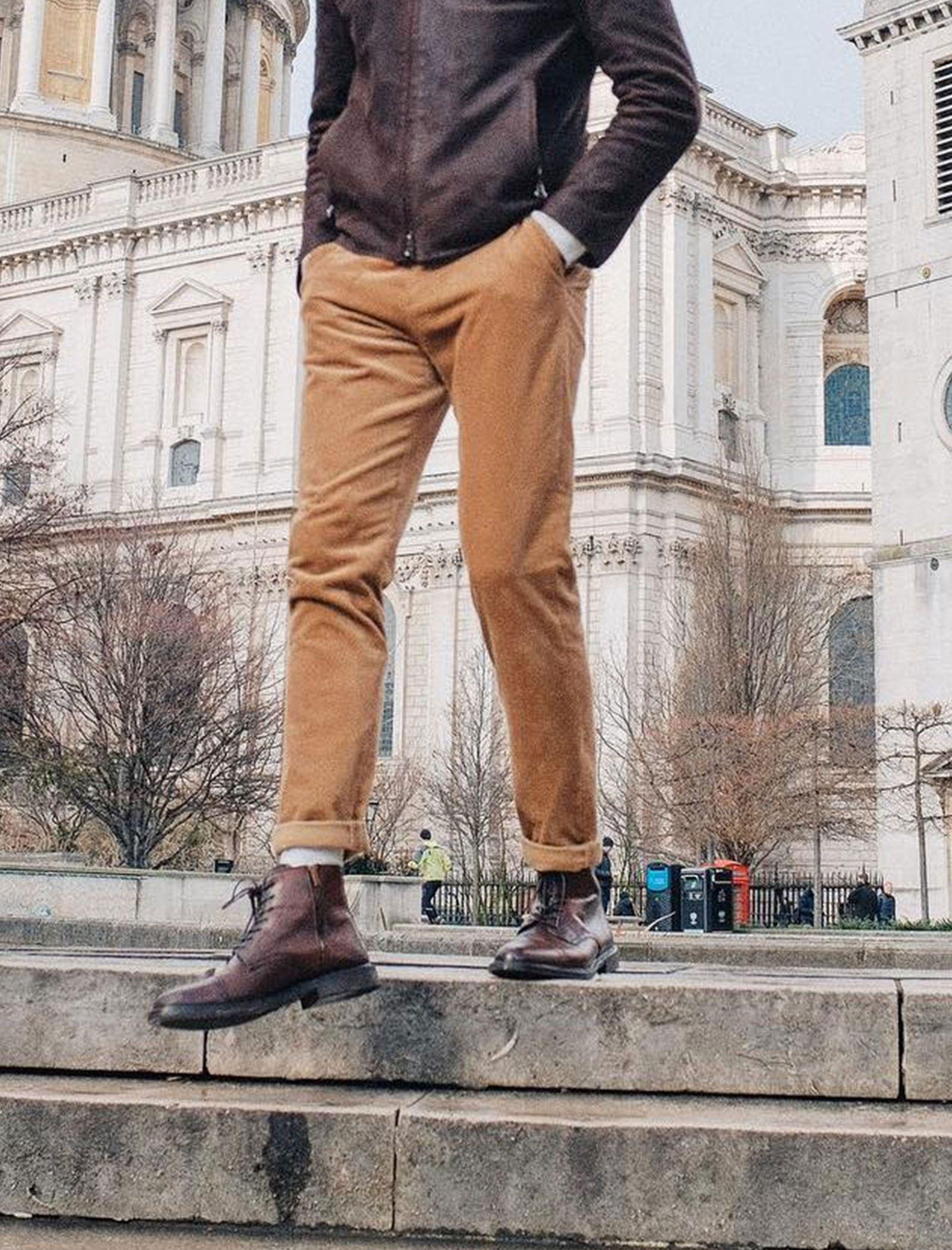 نیم بوت چرم رسمی مردانه - آلدو - قهوه اي - 4