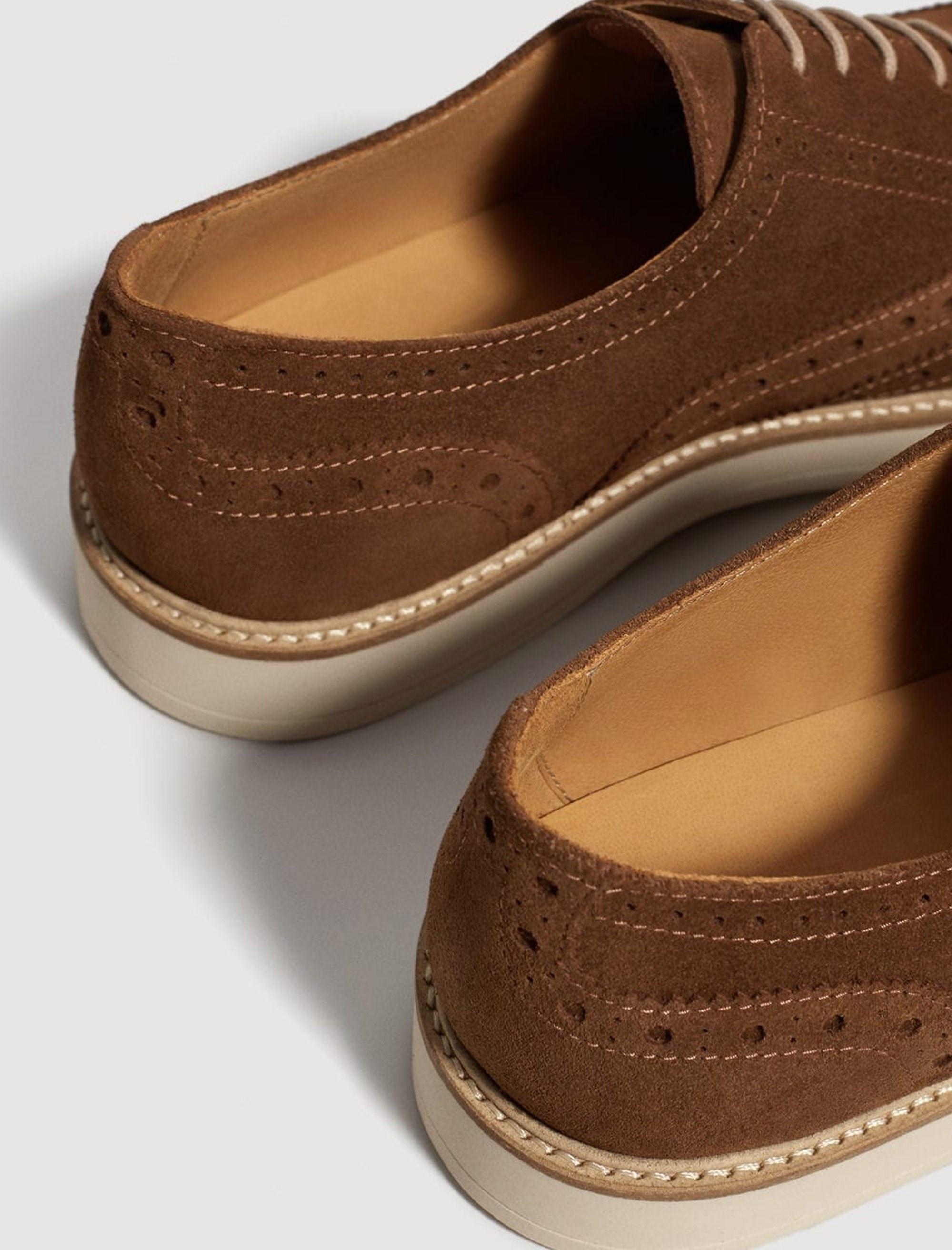 خرید                                     کفش اداری جیر مردانه - مانگو