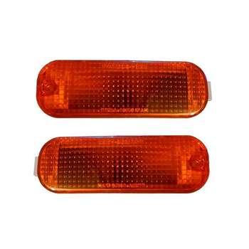 چراغ راهنما داخل سپر وگا کد 981937 مناسب برای پراید بسته 2 عددی