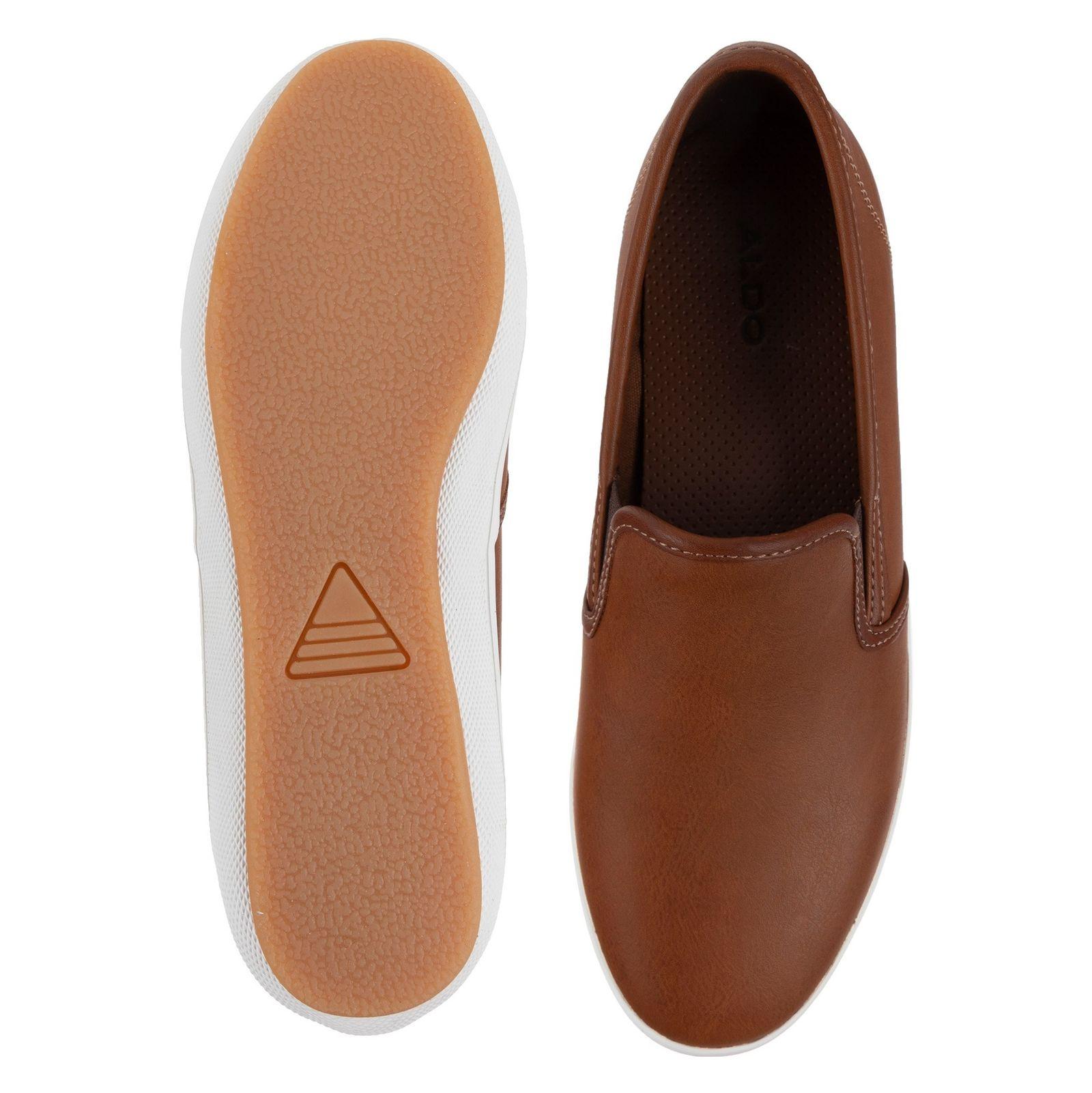 کفش راحتی مردانه - آلدو - قهوه اي - 2