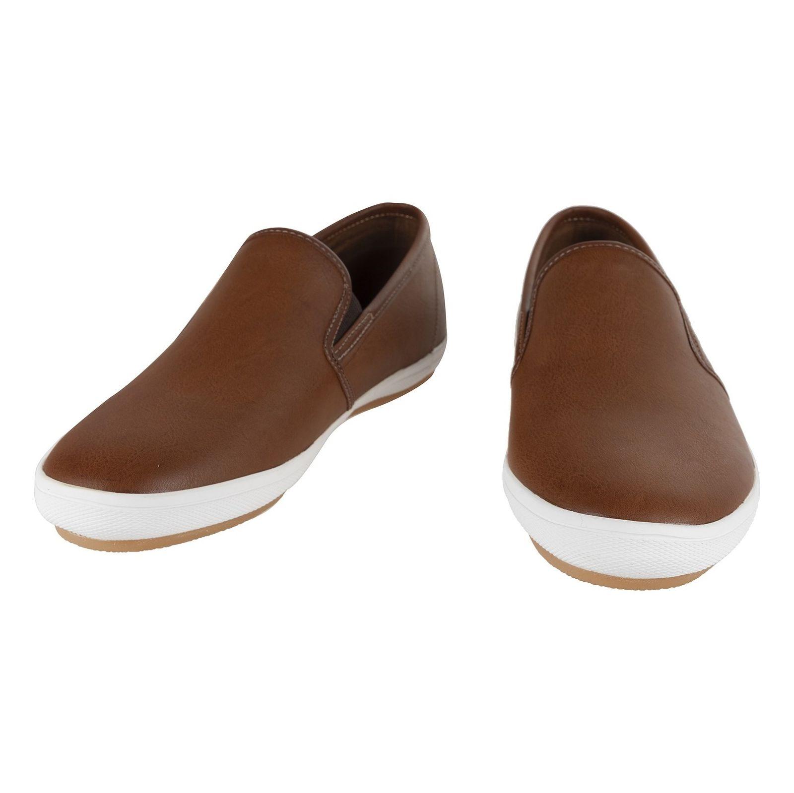 کفش راحتی مردانه - آلدو - قهوه اي - 4