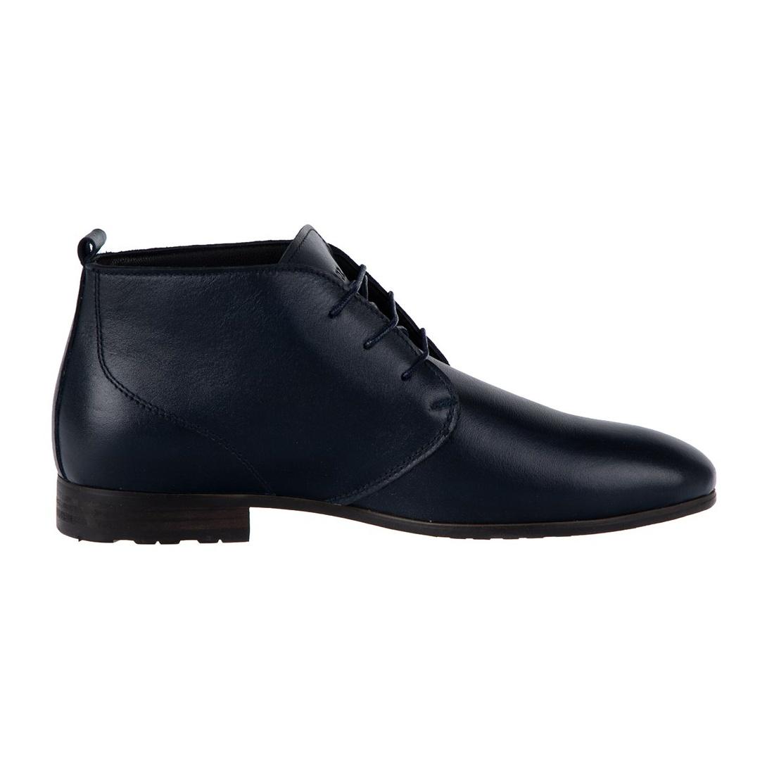کفش چرم تخت مردانه - پاتن جامه