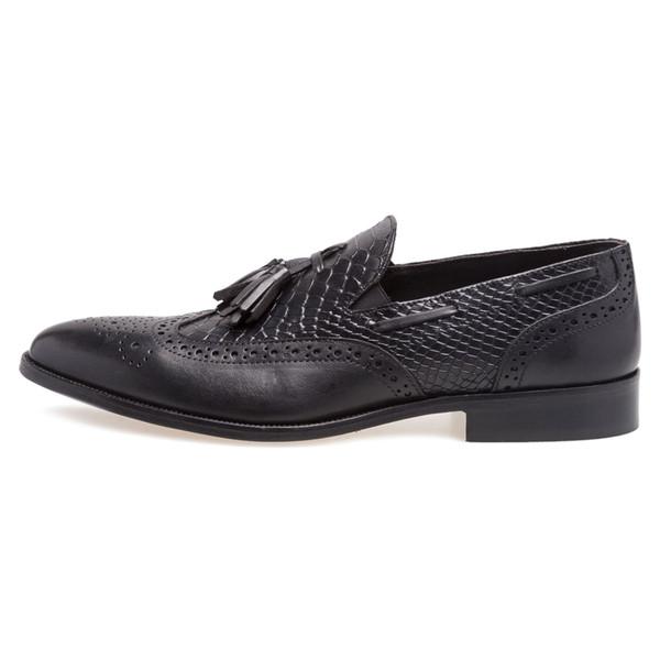 کفش اداری چرم مردانه Alvin - دنیلی