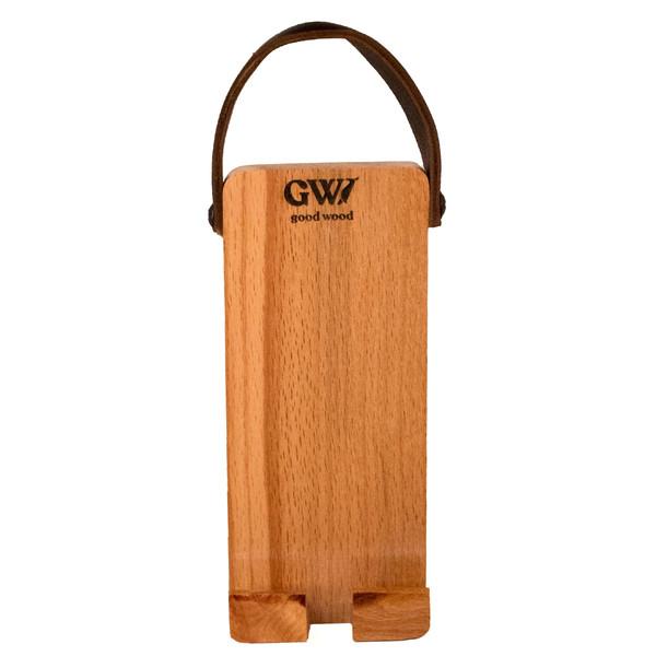 نگهدارنده گوشی موبایل چوبی مدل HN-51