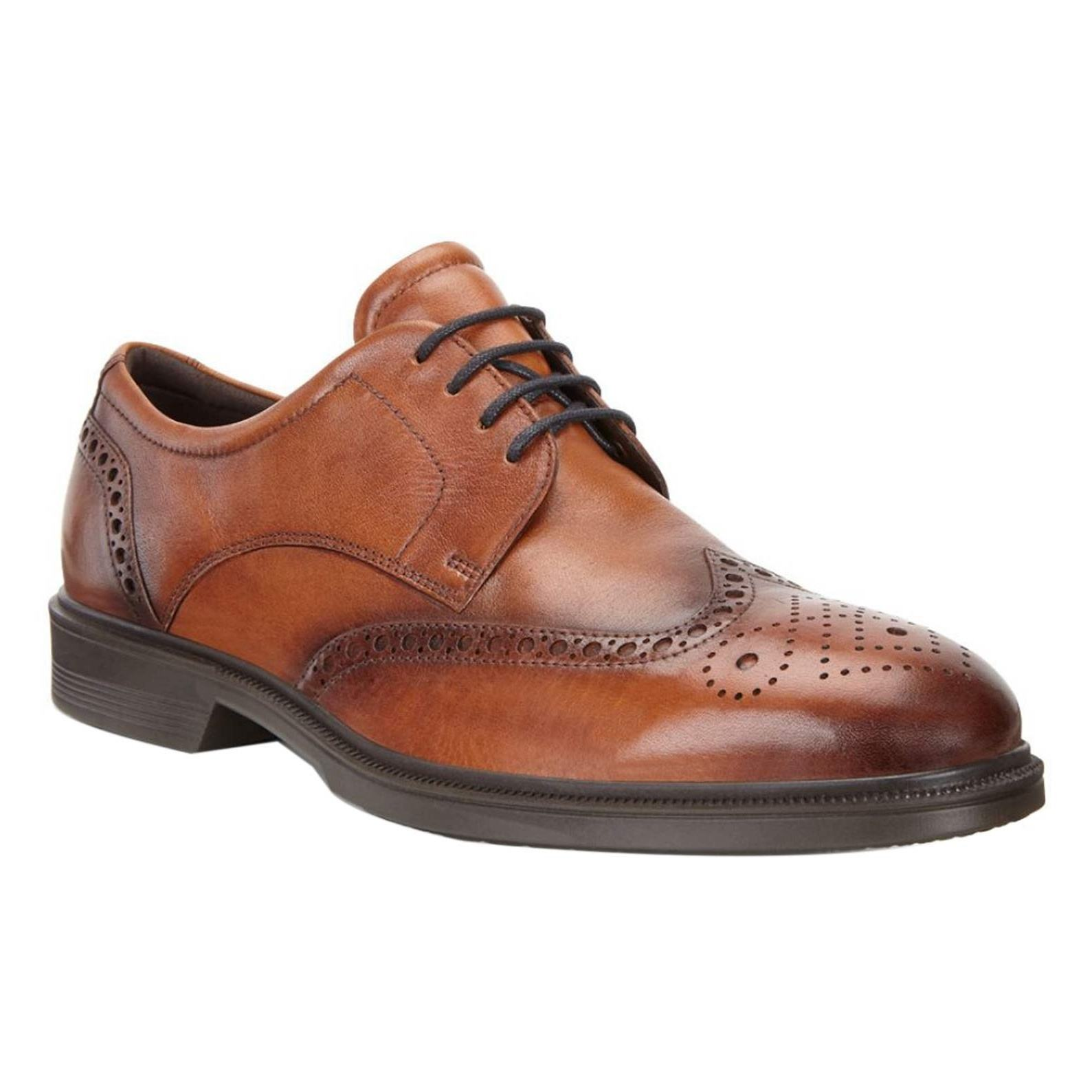کفش رسمی چرم مردانه Lisbon - اکو - قهوه اي  - 1