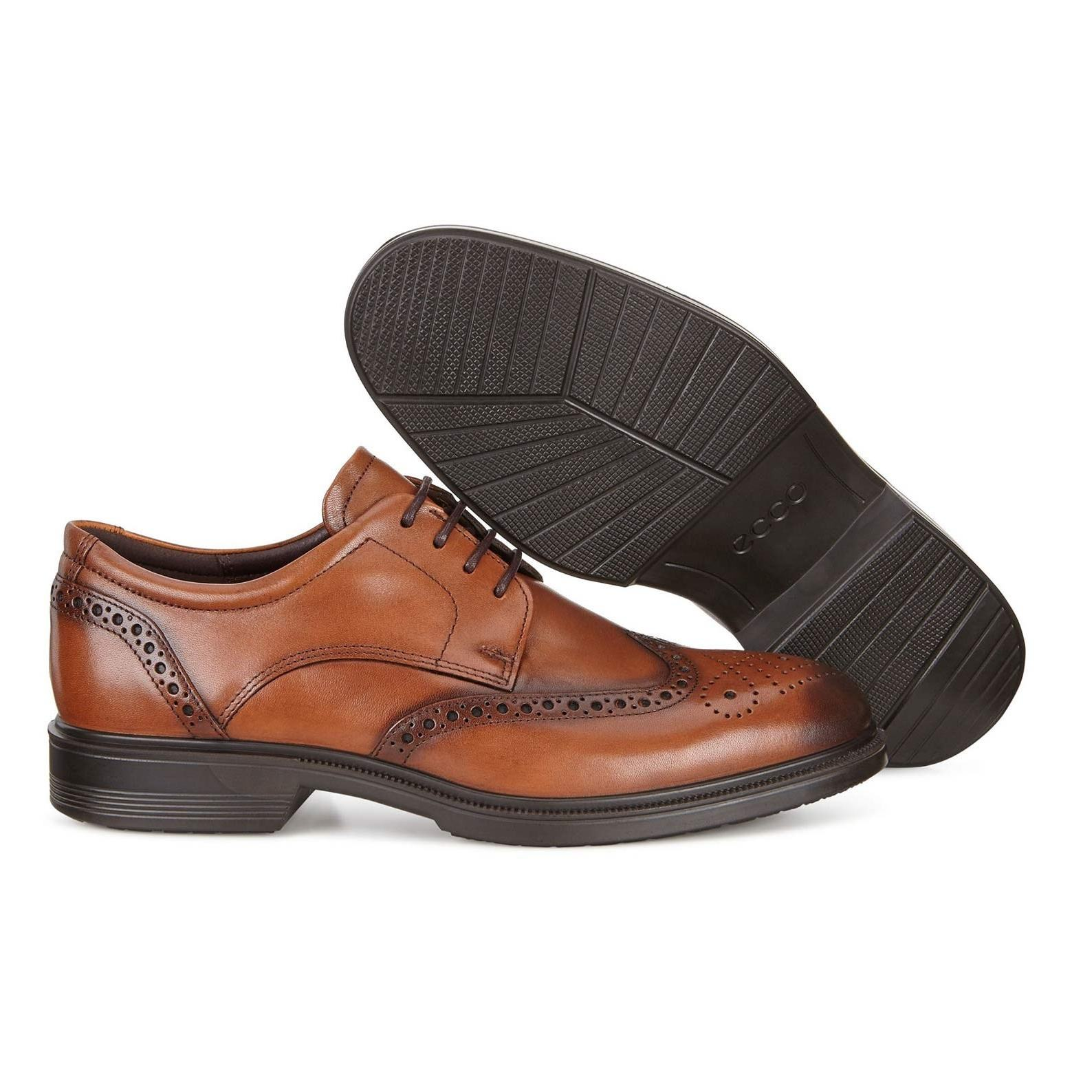 کفش رسمی چرم مردانه Lisbon - اکو - قهوه اي  - 4