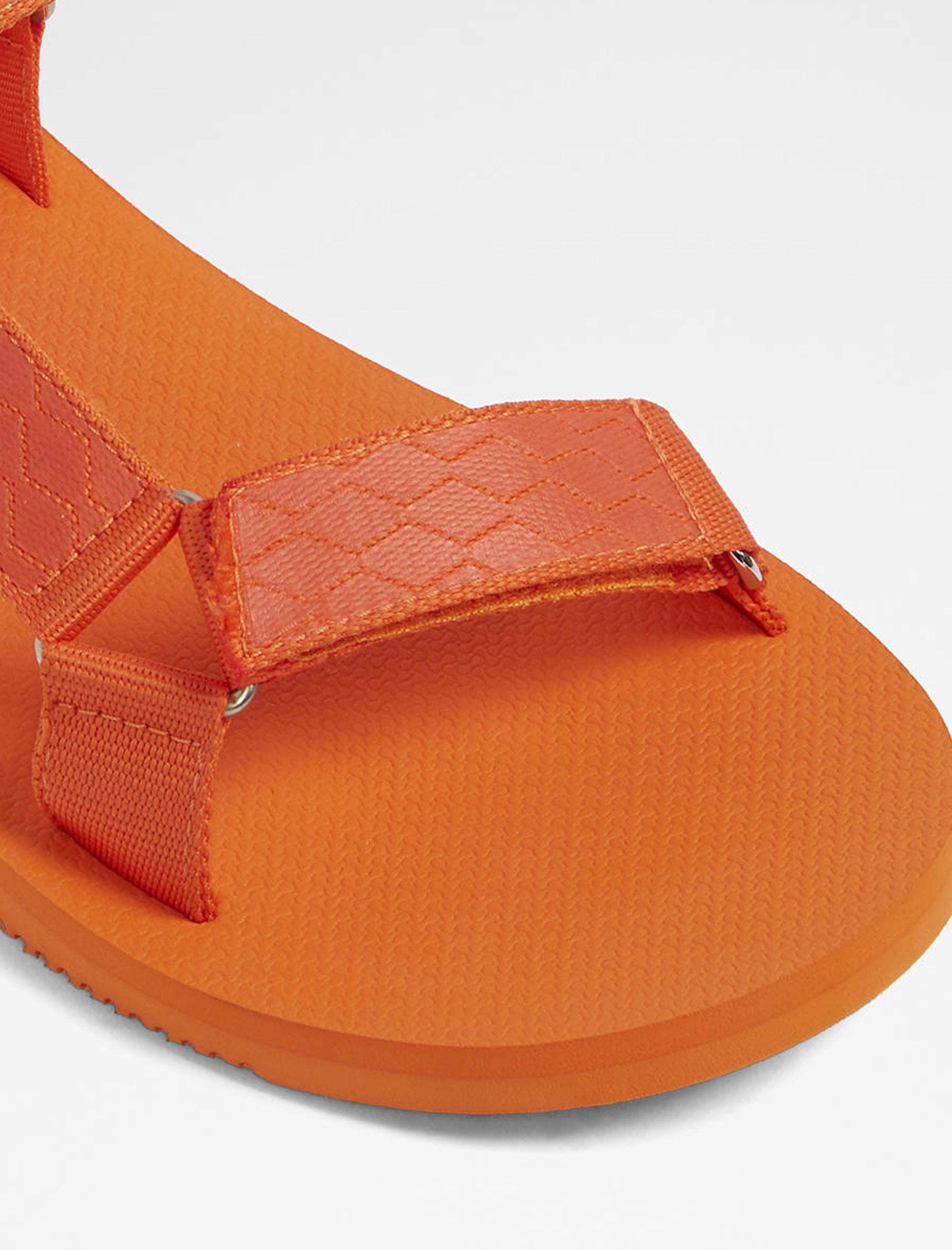 صندل چسبی مردانه - آلدو - نارنجي - 4