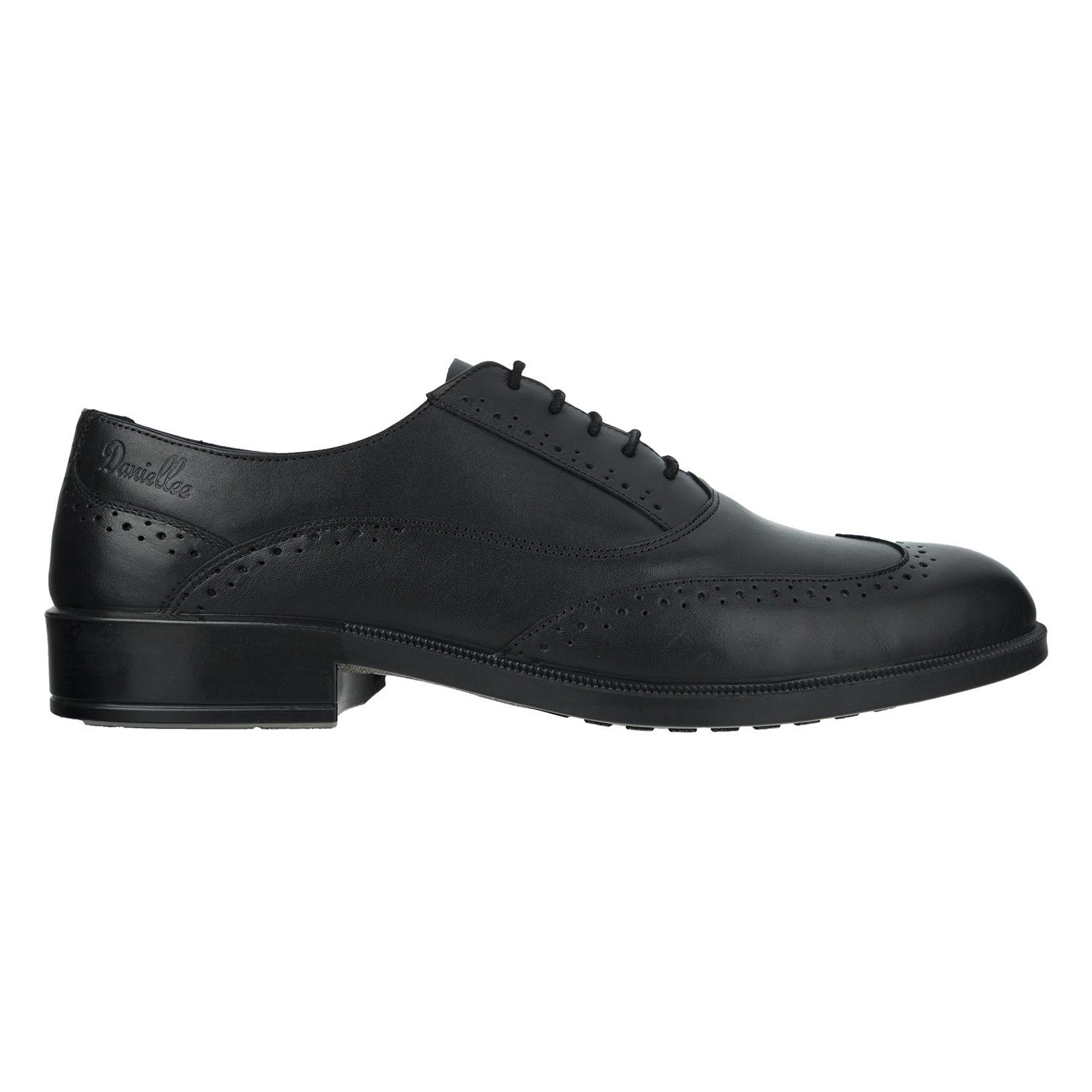 کفش رسمی چرم مردانه Lazzaro - دنیلی - مشکي - 1