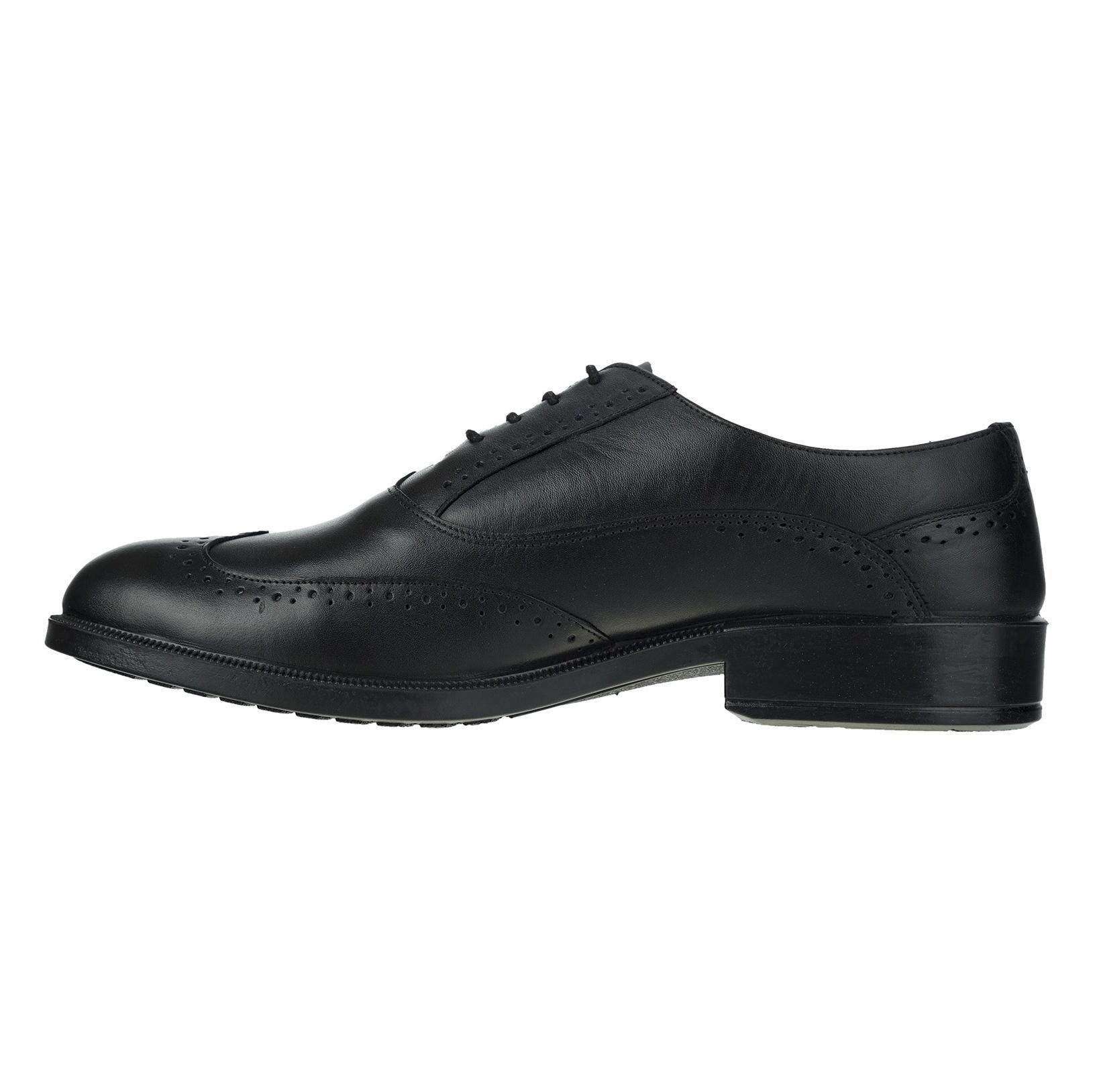 کفش رسمی چرم مردانه Lazzaro - دنیلی - مشکي - 2