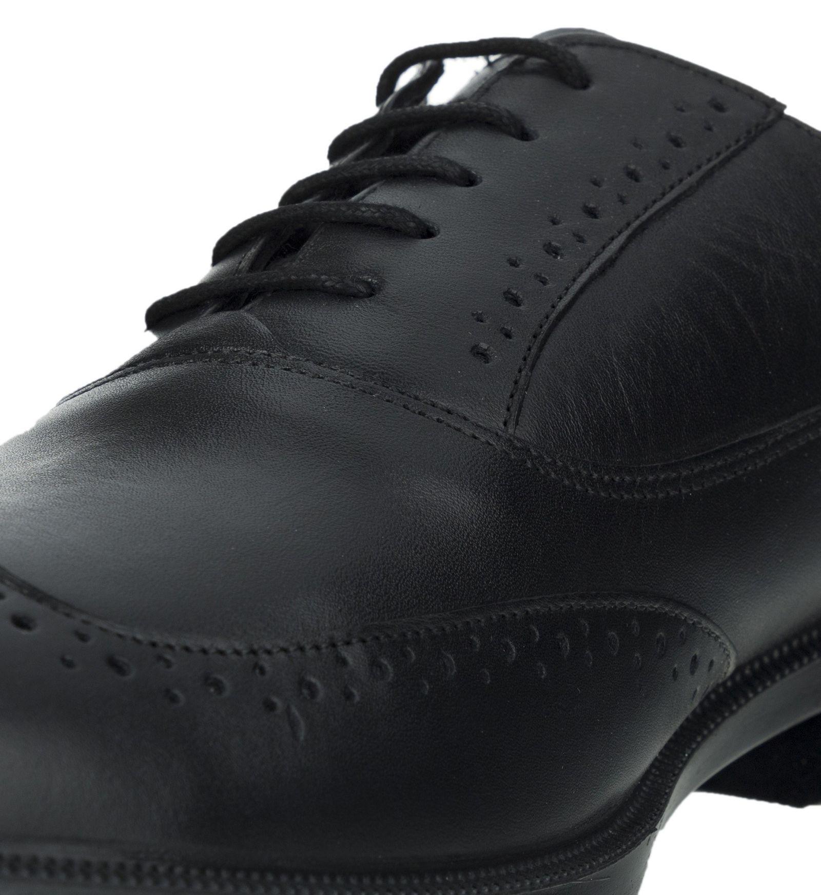 کفش رسمی چرم مردانه Lazzaro - دنیلی - مشکي - 3
