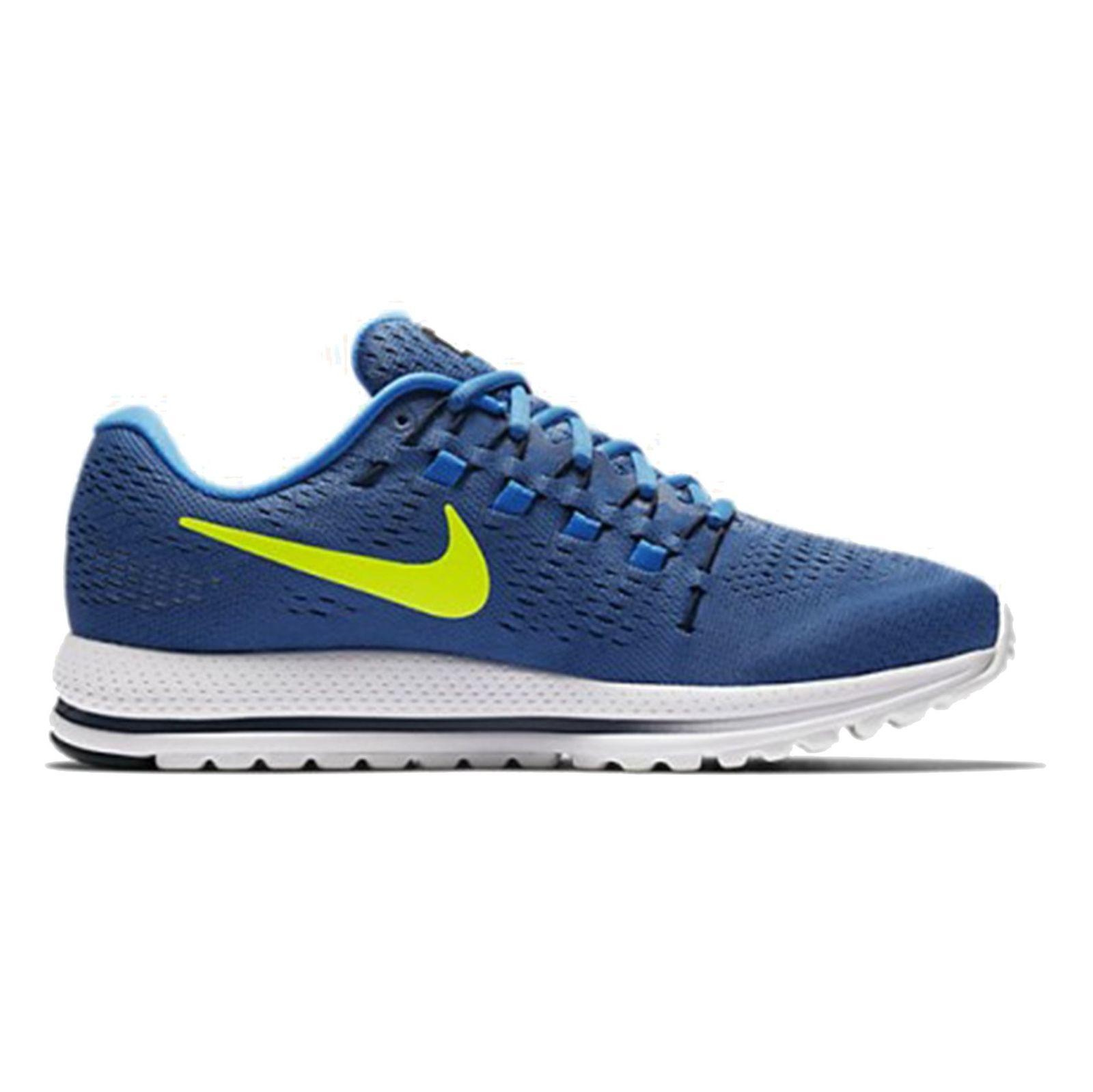 کفش دویدن بندی مردانه Air Zoom Vomero 12 - نایکی - آبي تيره - 1