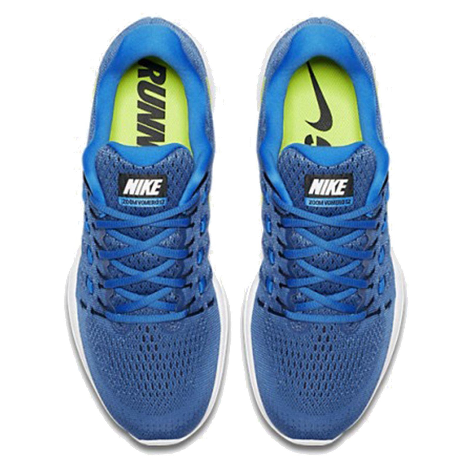 کفش دویدن بندی مردانه Air Zoom Vomero 12 - نایکی - آبي تيره - 2