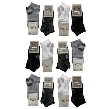جوراب مردانه آپادانا کد A 20 مجموعه 12عددی