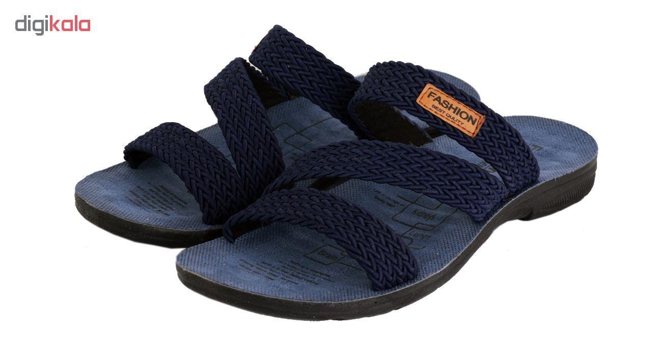 دمپایی مردانه کفش شهپر کد 06 main 1 3