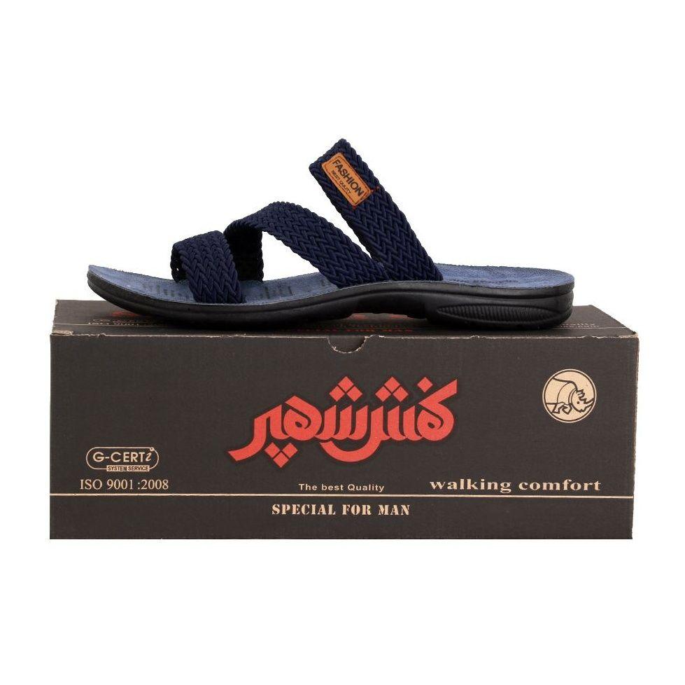 دمپایی مردانه کفش شهپر کد 06 main 1 5