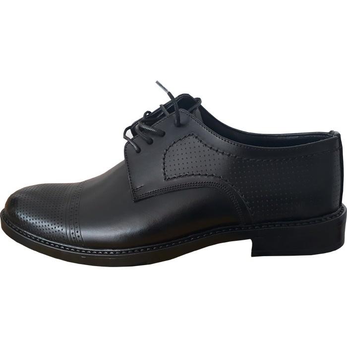 کفش چرم مردانه shm223