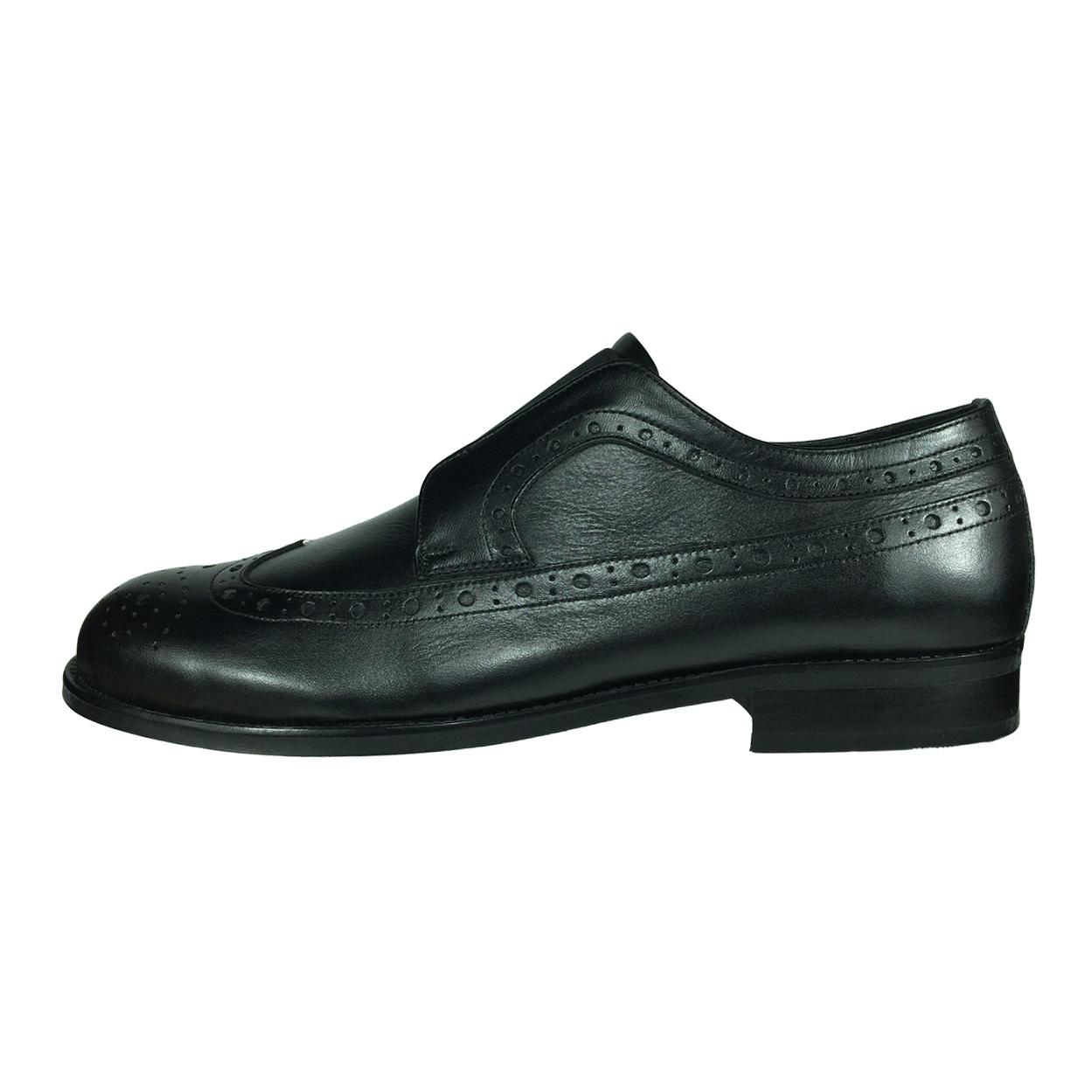 کفش مردانه پاریس جامه مدل B482 رنگ مشکی