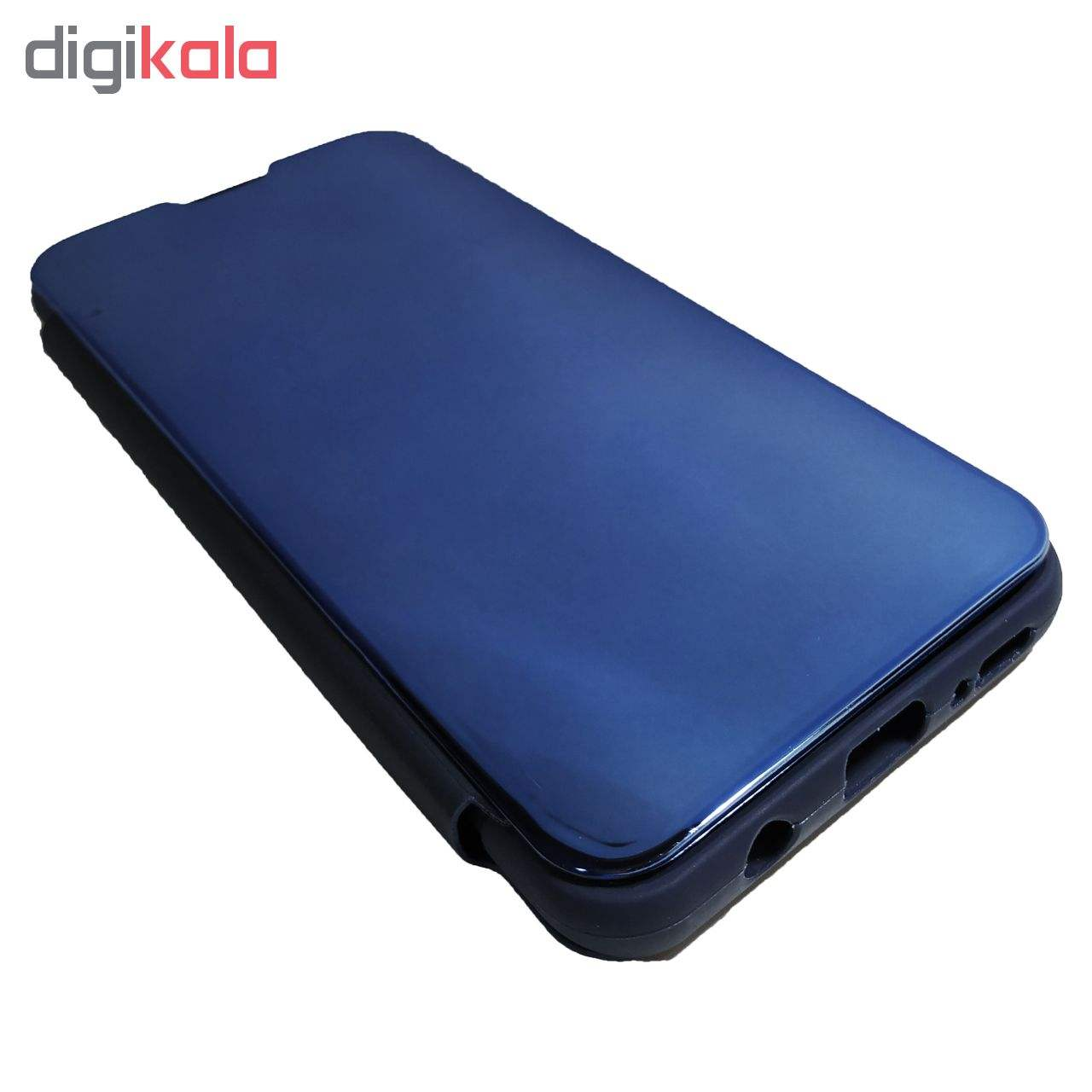 کیف کلاسوری مدل Clear View Standing مناسب برای گوشی موبایل سامسونگ Galaxy A50