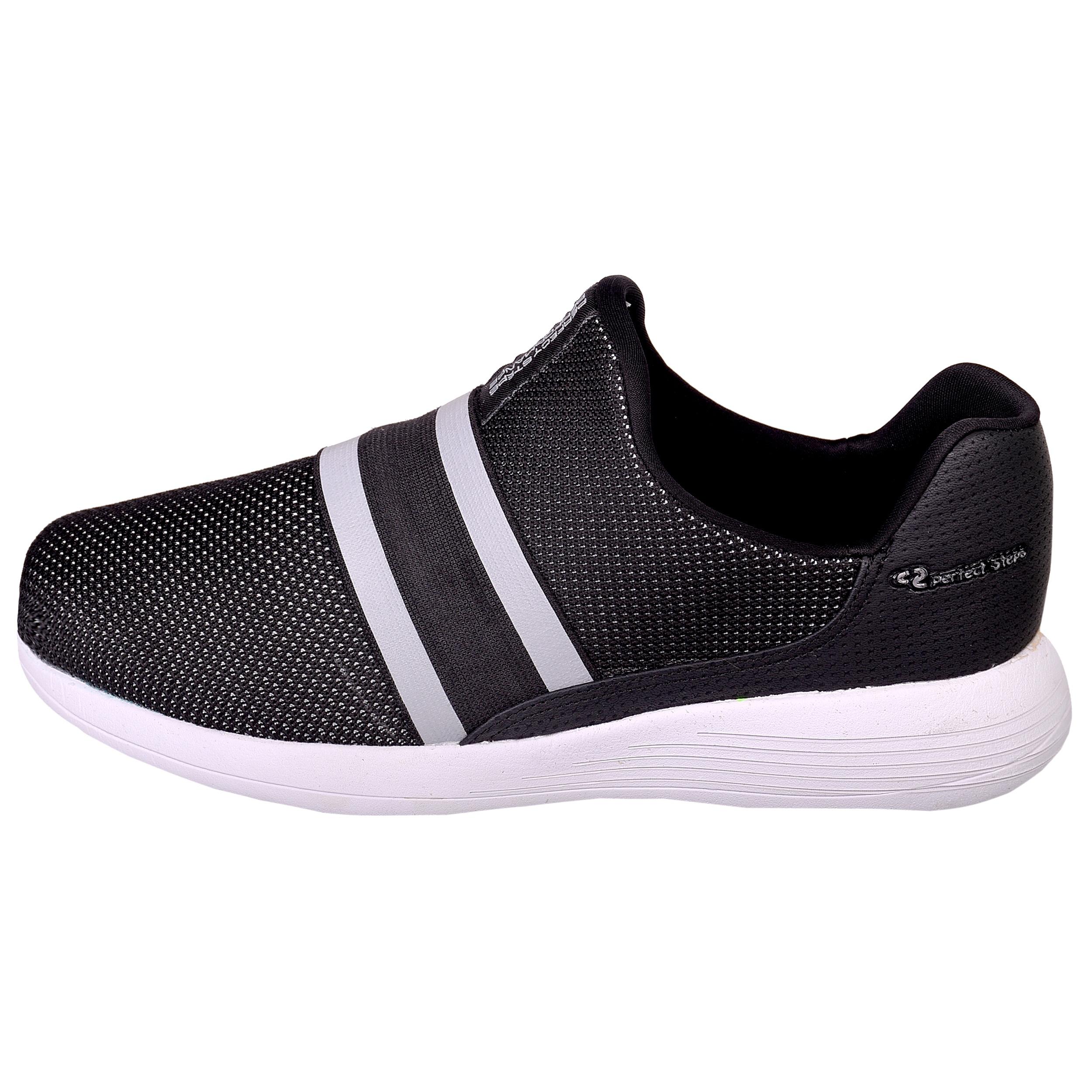 کفش مخصوص پیاده روی مردانه پرفکت استپس مدل پرفورمنس کد 1936 رنگ مشکی