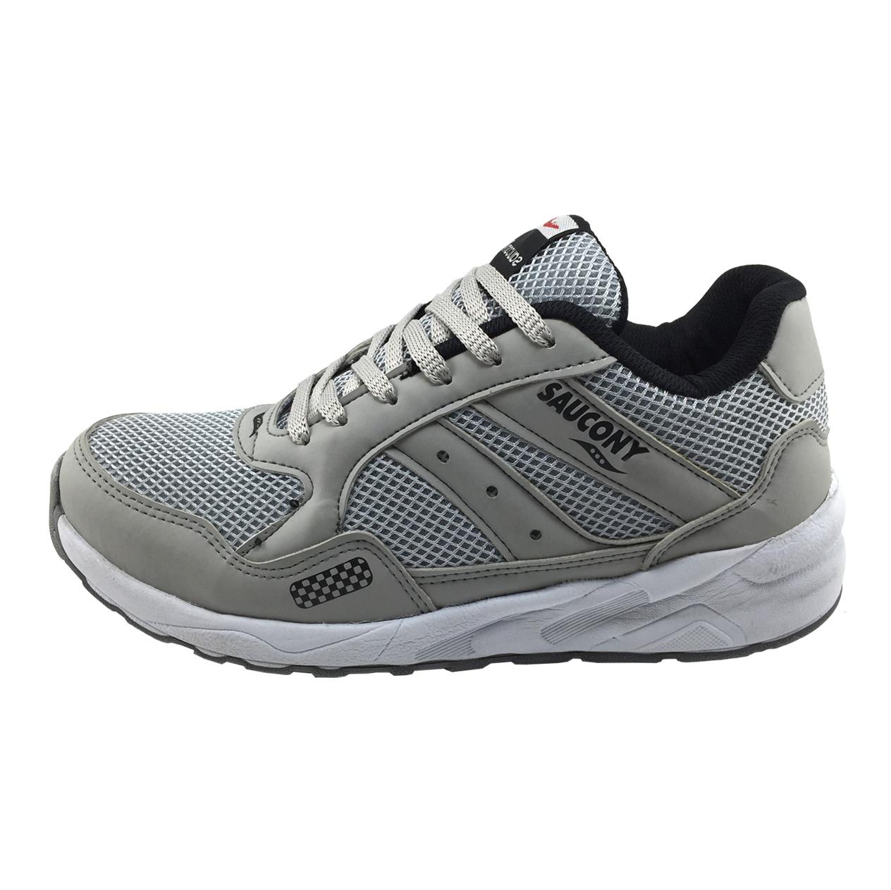 کفش ورزشی مردانه مدل B172 رنگ طوسی