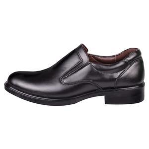 کفش مردانه طب نوین مدل خزر کد 1690 رنگ مشکی
