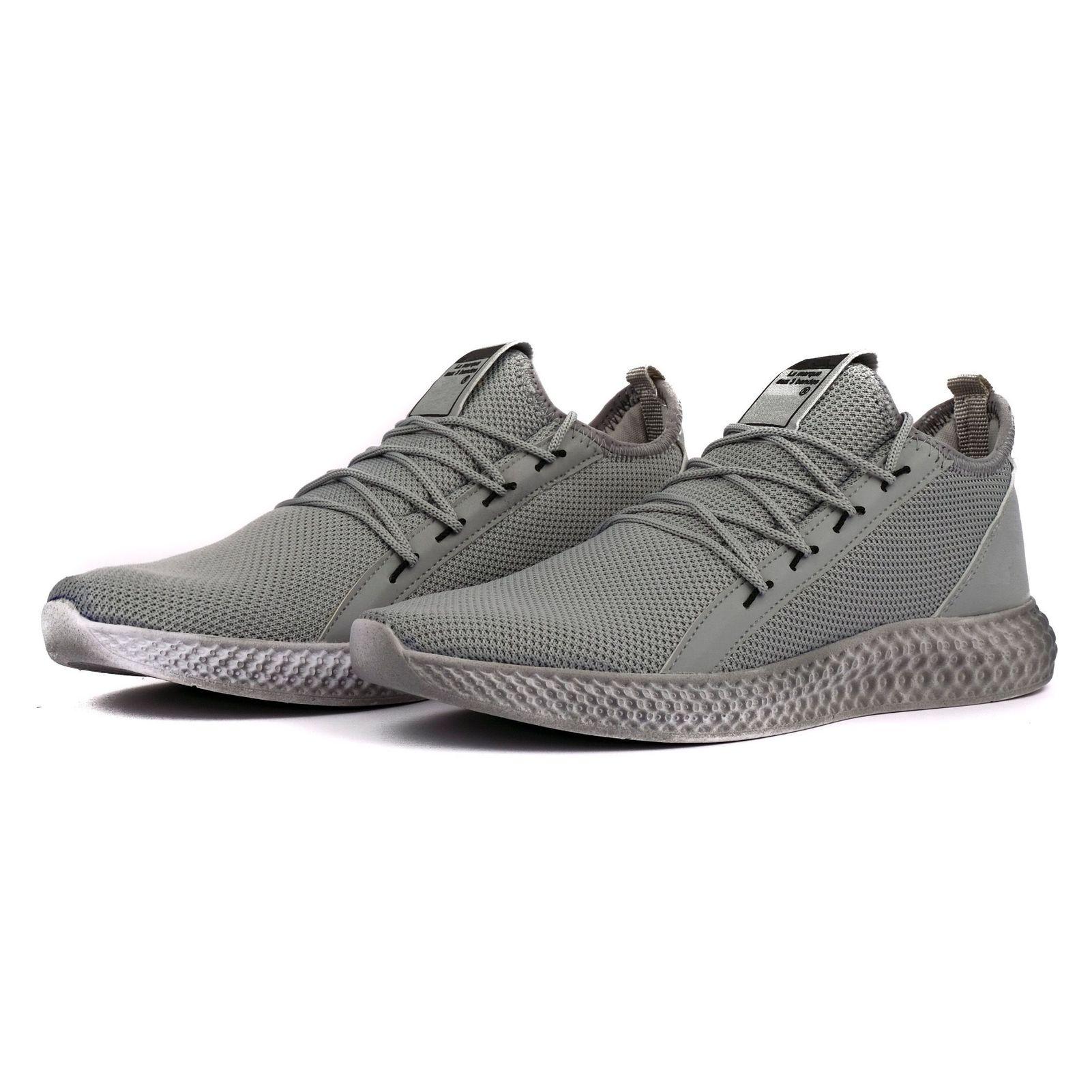 کفش مخصوص پیاده روی مردانه مدل adi-super رنگ طوسی main 1 2